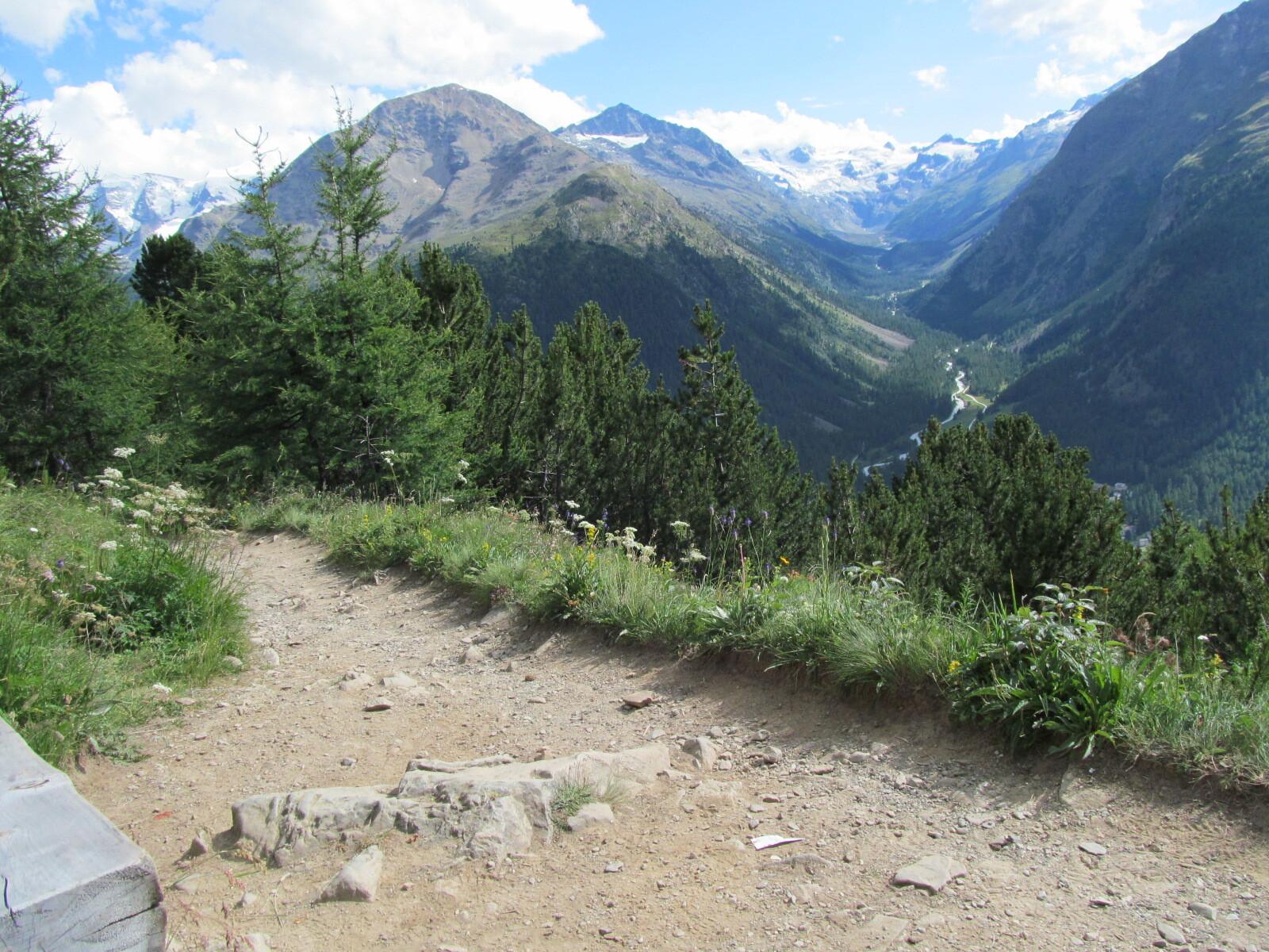 Sitzbänke Panoramaweg Muottas-Muragl - Alp Languard Slide 5