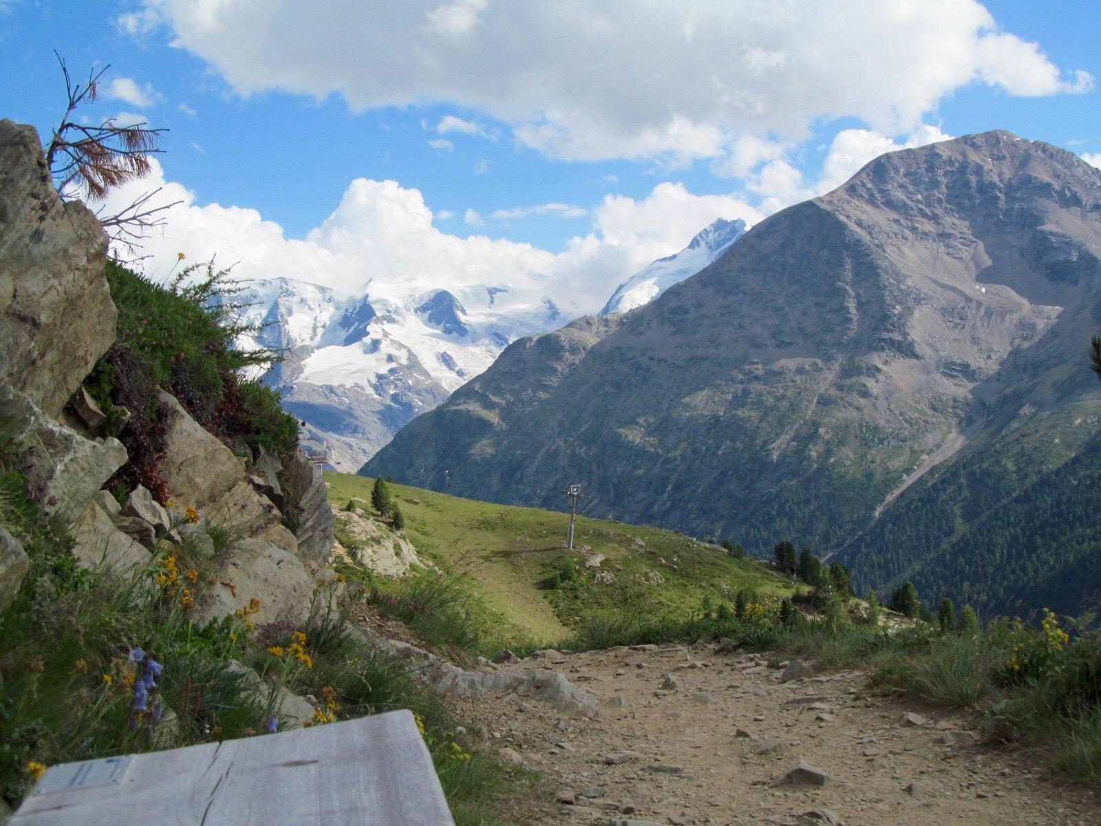 Sitzbänke Panoramaweg Muottas-Muragl - Alp Languard Slide 7