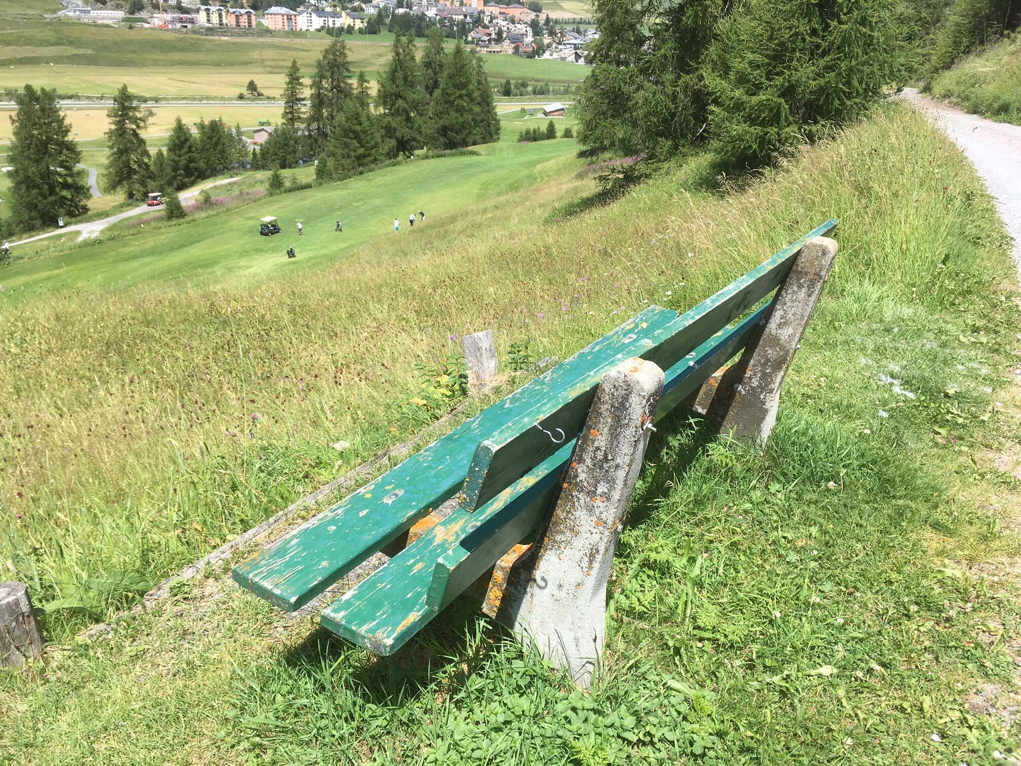 Sitzbank Golfweg II Slide 3