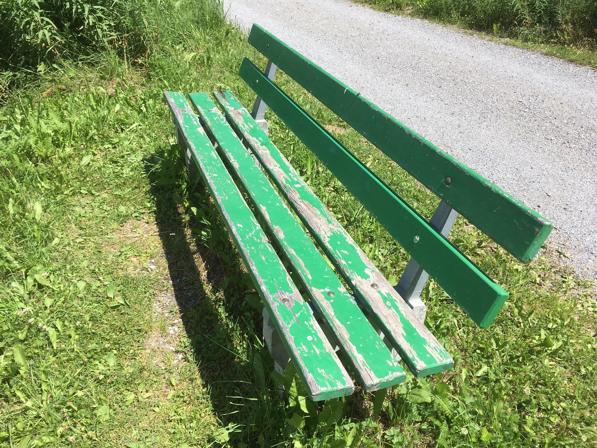 Sitzbank Golfweg III Slide 3