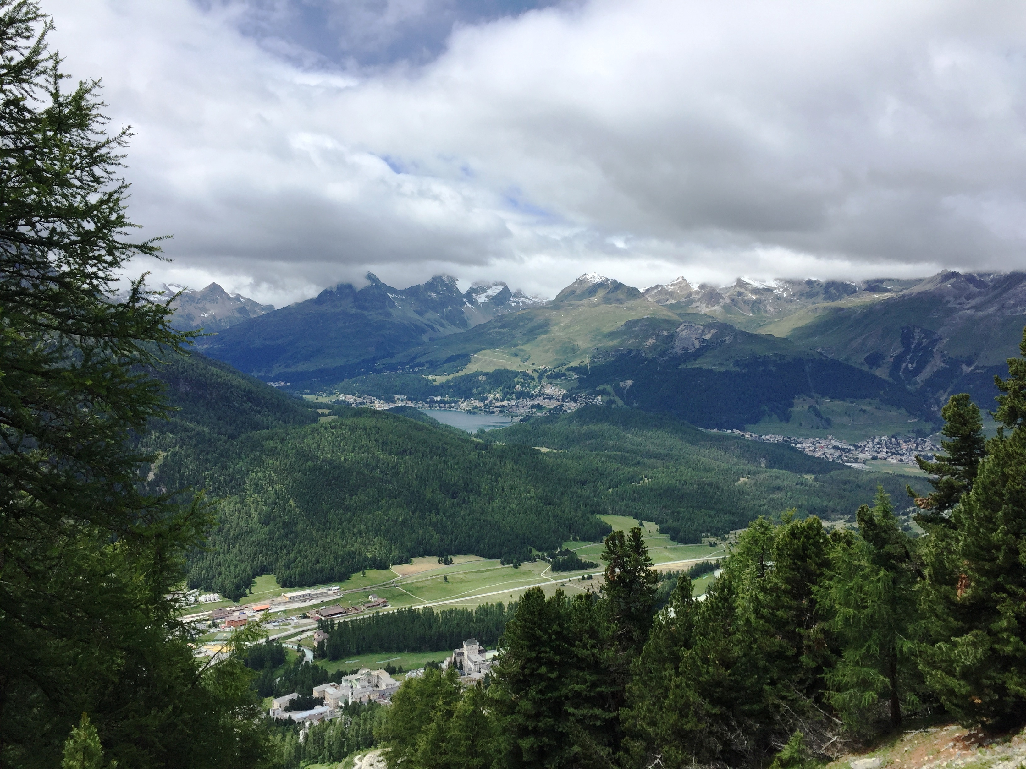 Sitzbänke Panoramaweg Muottas-Muragl - Alp Languard Slide 10