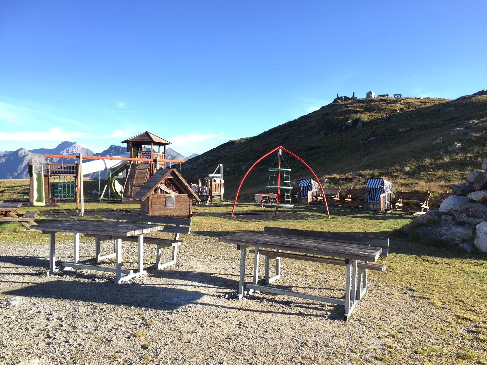 Kinderspielplatz Muottas Muragl Slide 5