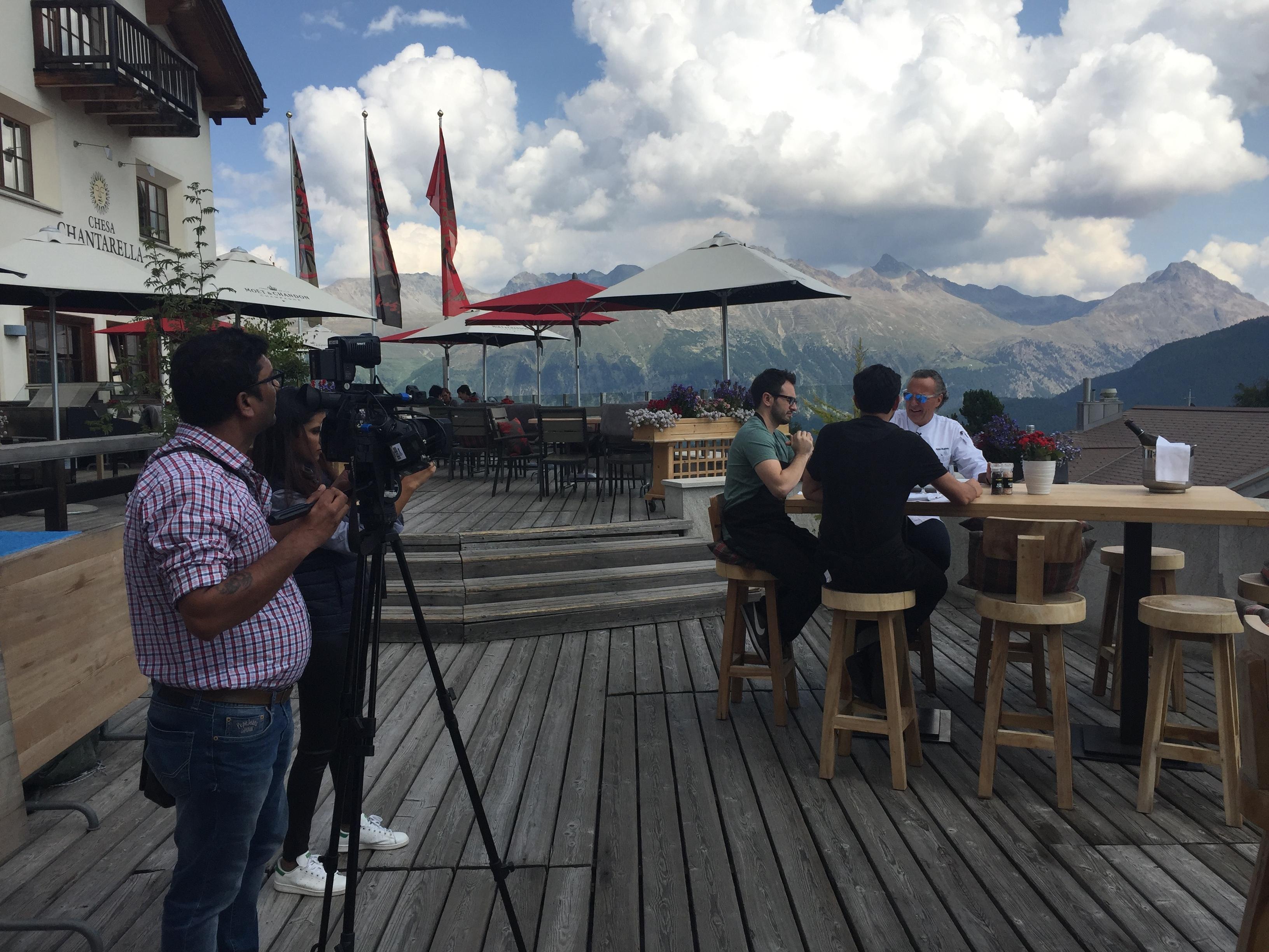 St. Moritz begeistert Medienschaffende und Instagram-Stars Slide 1