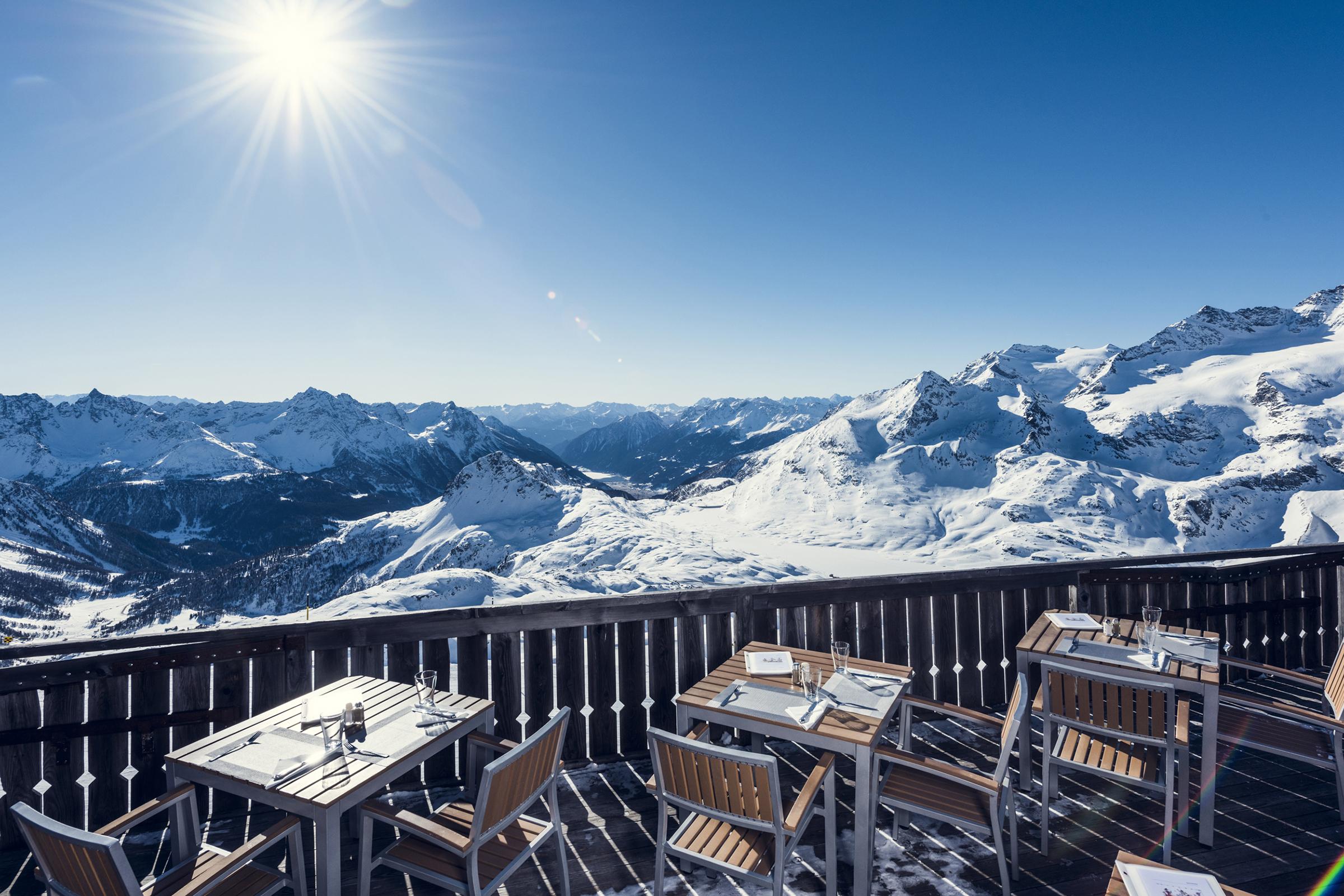 Bergrestaurant Lagalb Slide 1