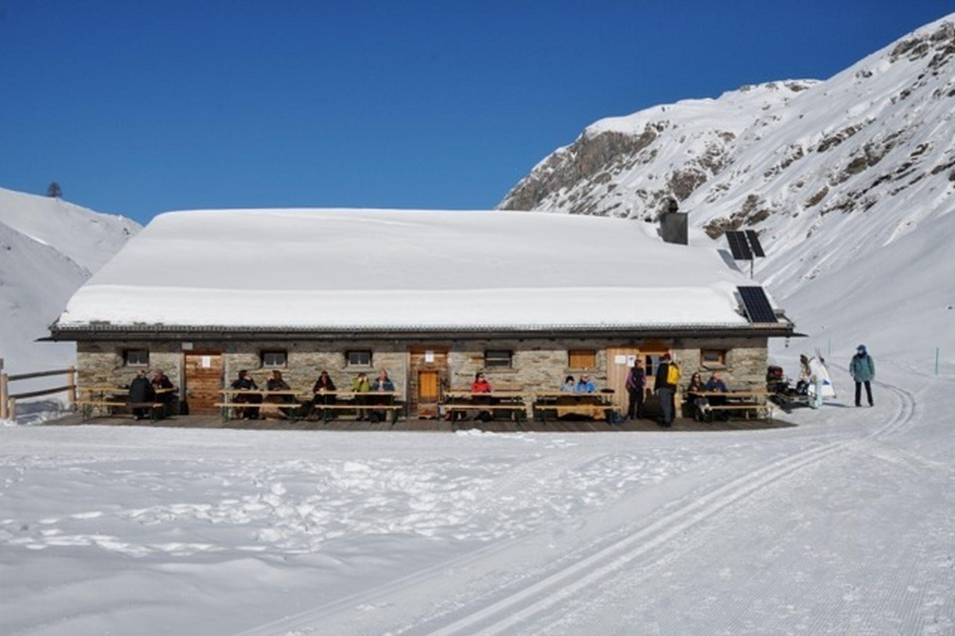 Alp Muot Selvas Winter Slide 1