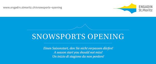 Saisonstart mit dem Snowsports Opening Slide 1