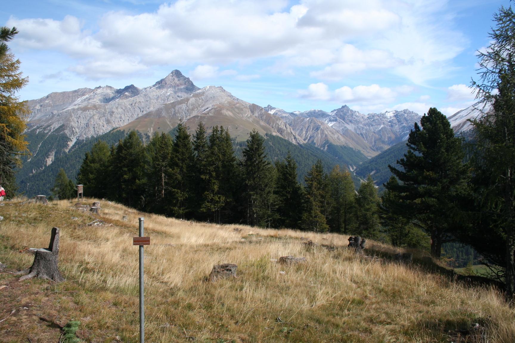 Prähistorische Siedlung 'Botta Striera' Slide 1