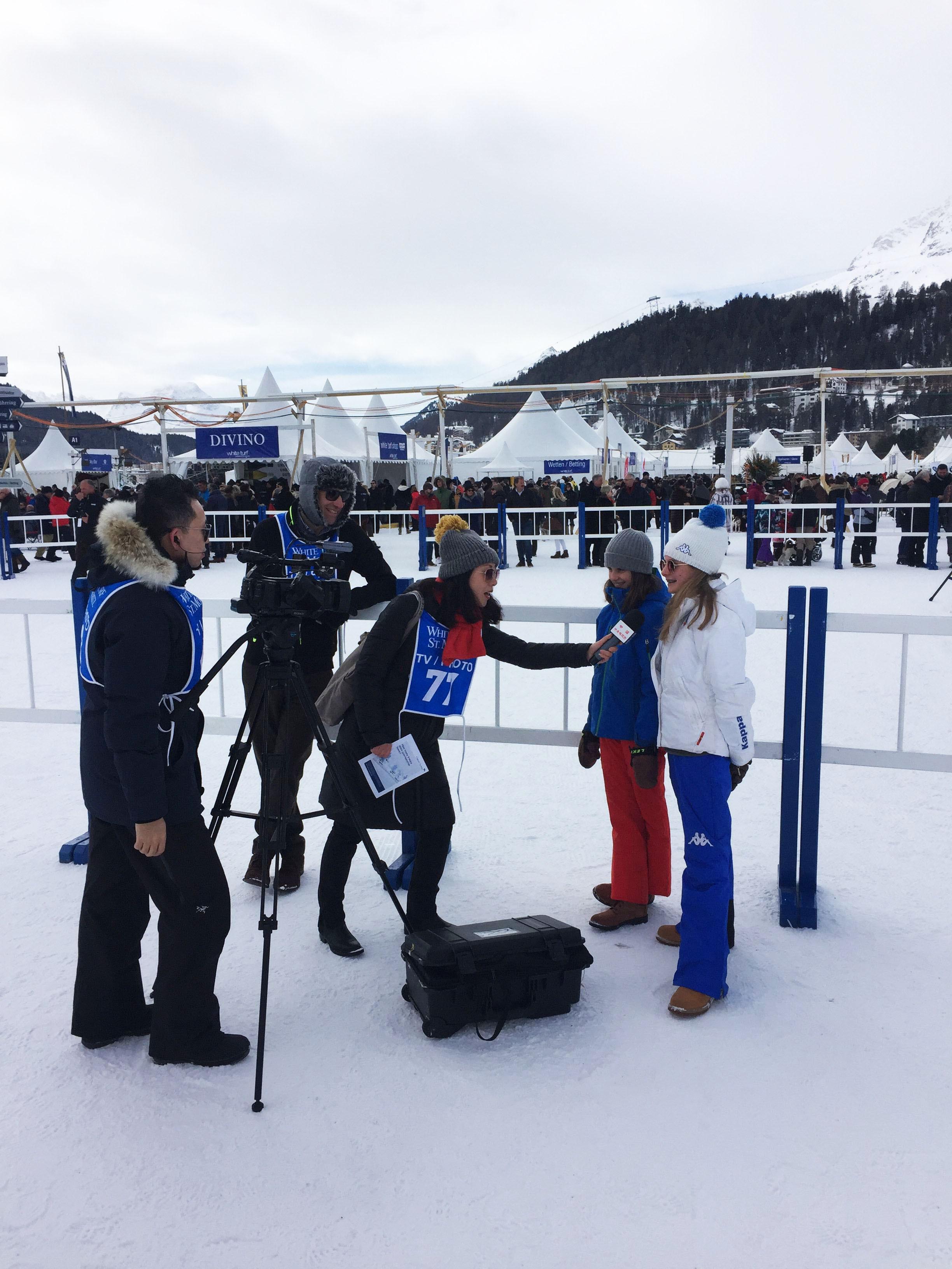 CCTV auf den Spuren der Olympischen Winterspiele Slide 1