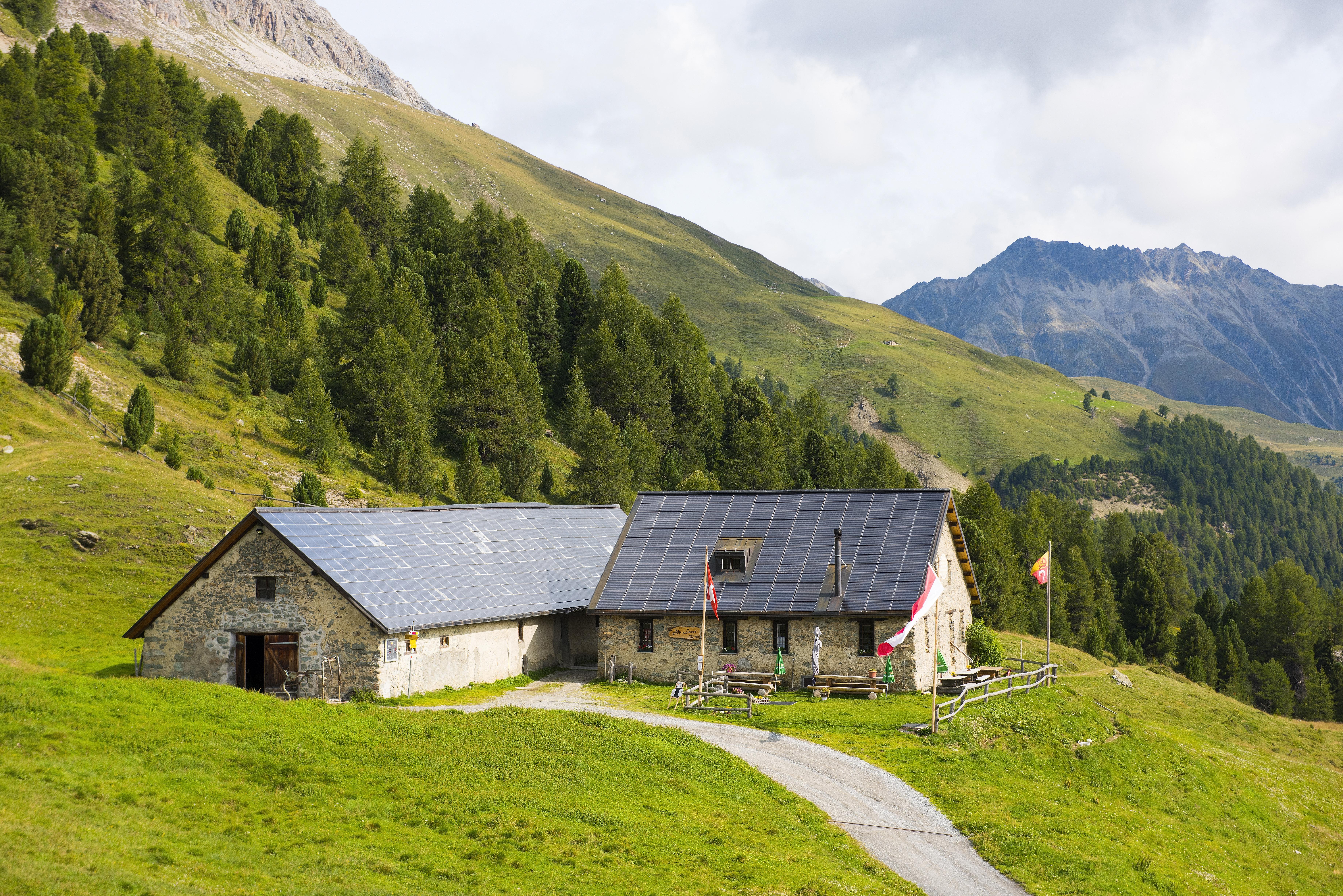 Sitzbank Alp Laret Slide 1