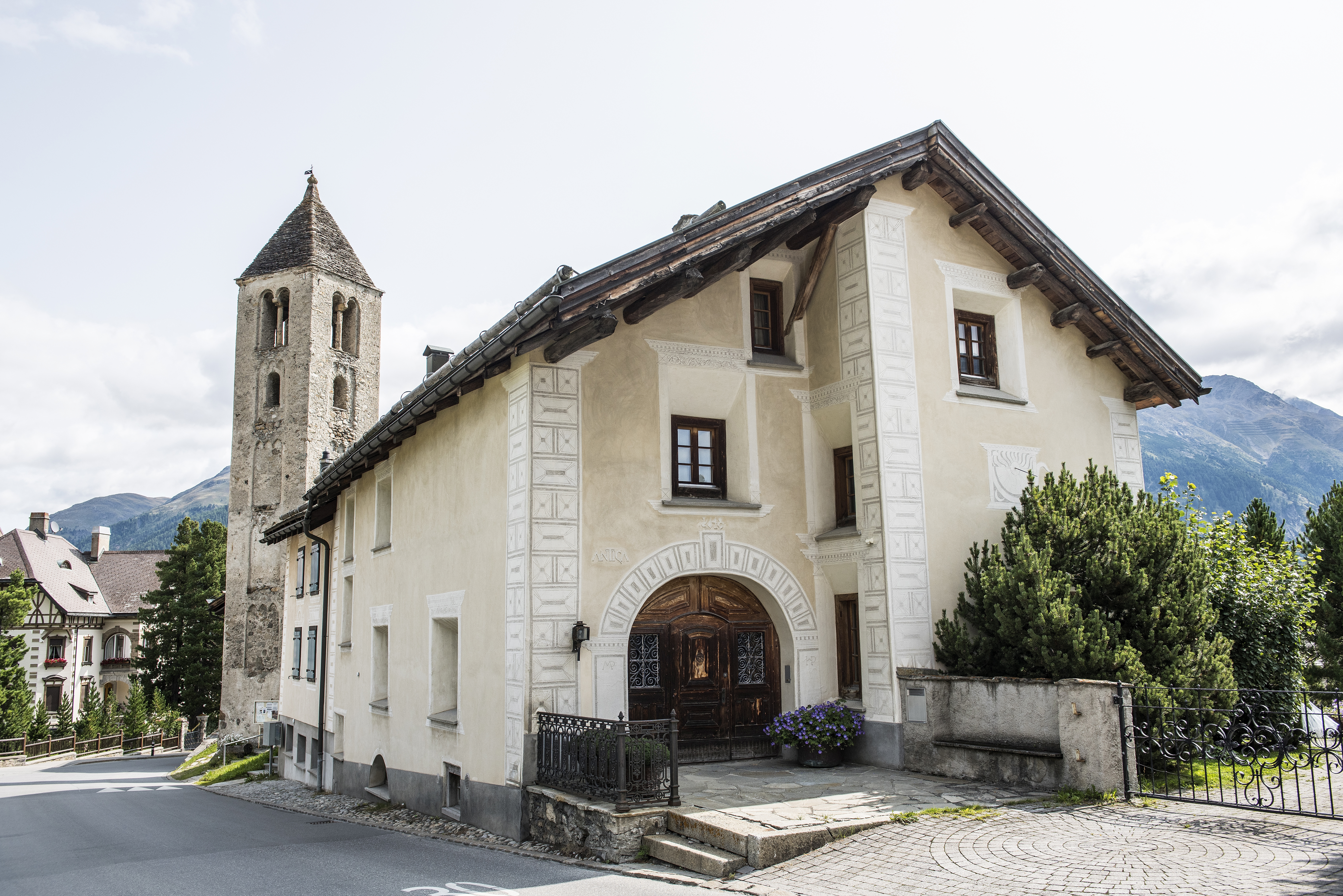 Protestant church Crasta / Sta. Maria Slide 2