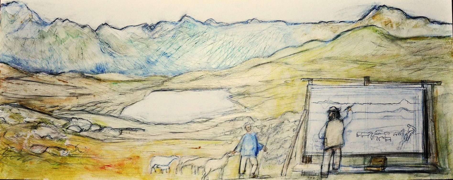 Giovanni Segantini – Szenen seines Lebens Slide 2
