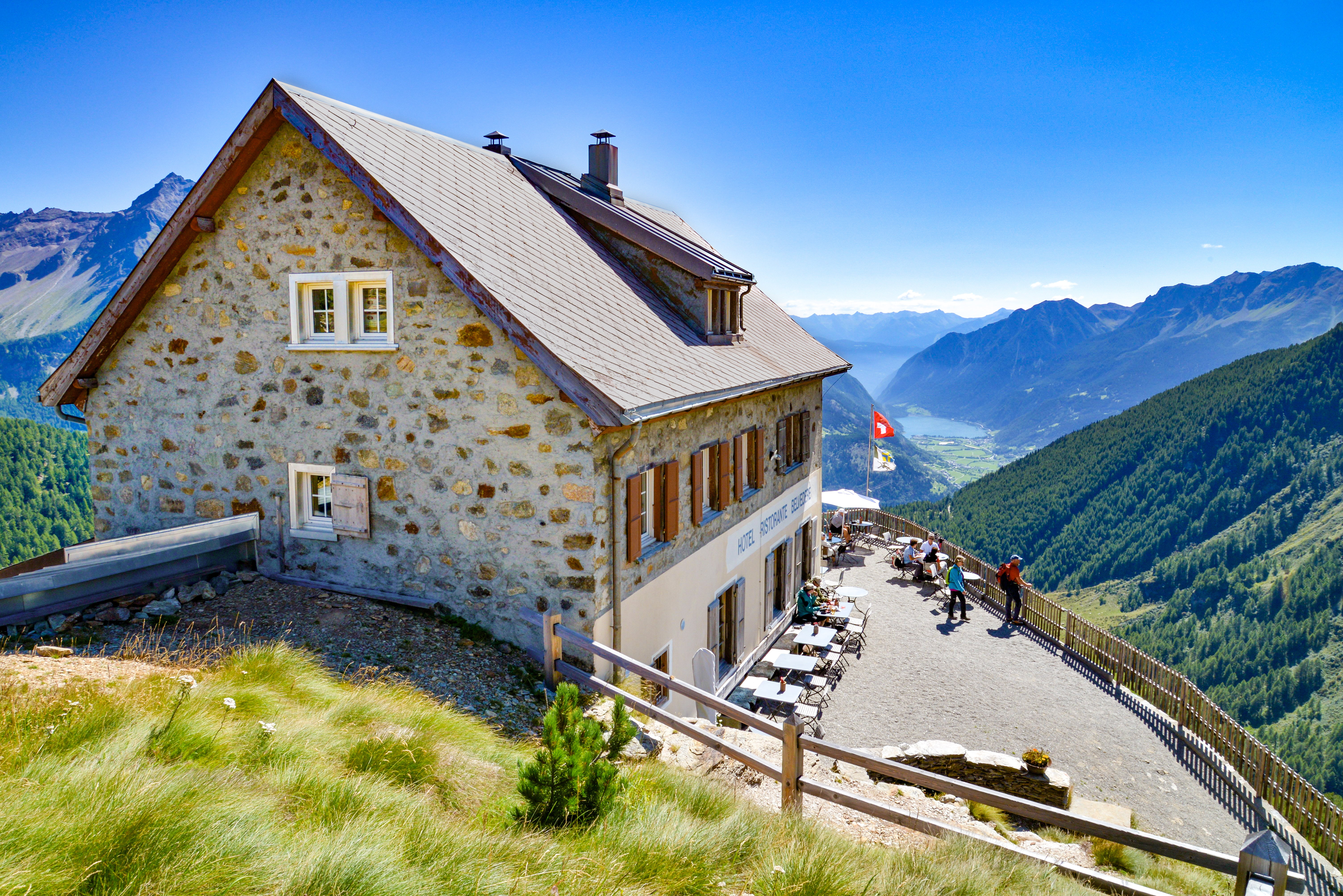 Mountain and excursion restaurants