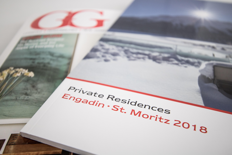 Engel & Völkers St. Moritz Slide 1