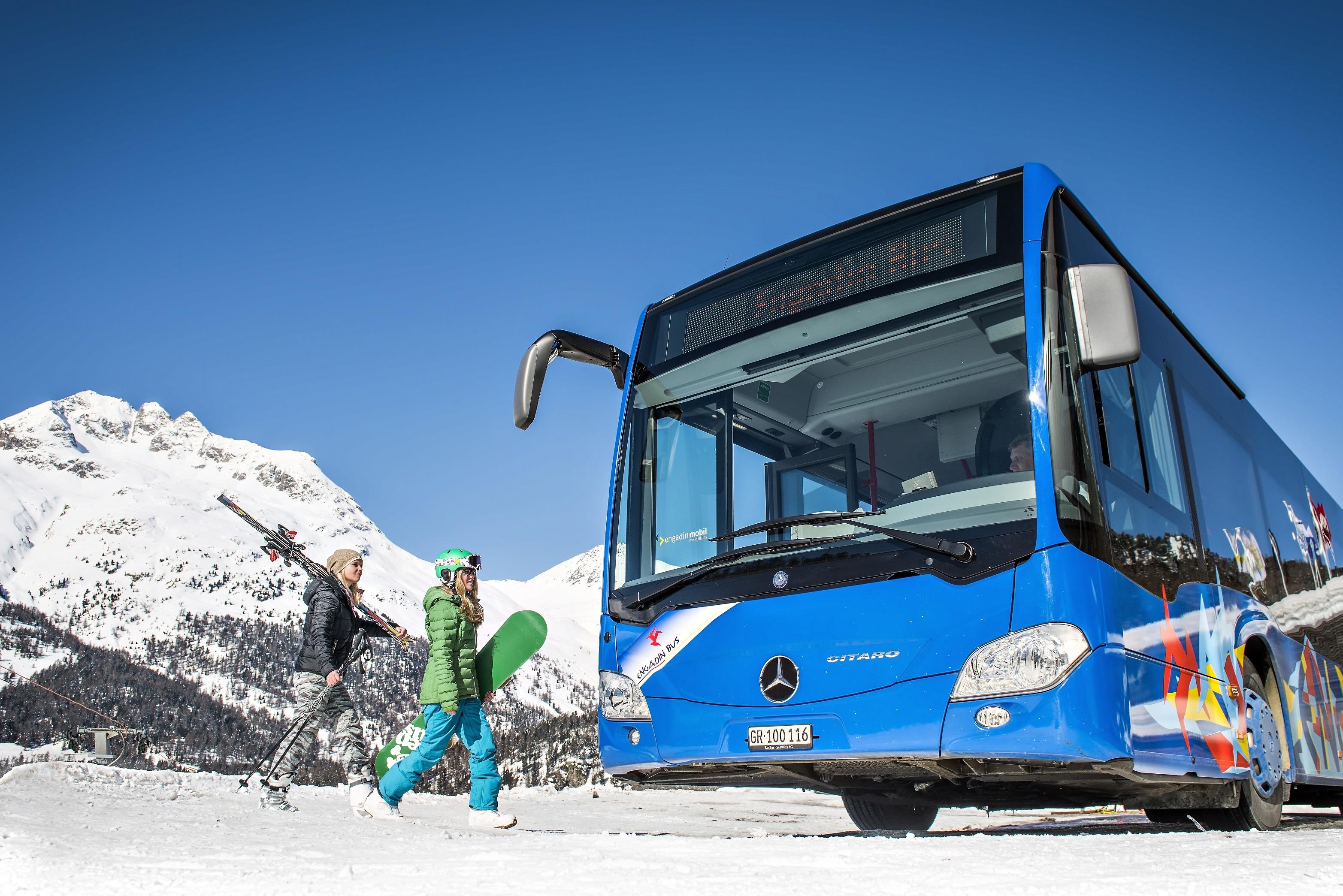Engadin Bus – der Bus im Oberengadin Slide 2