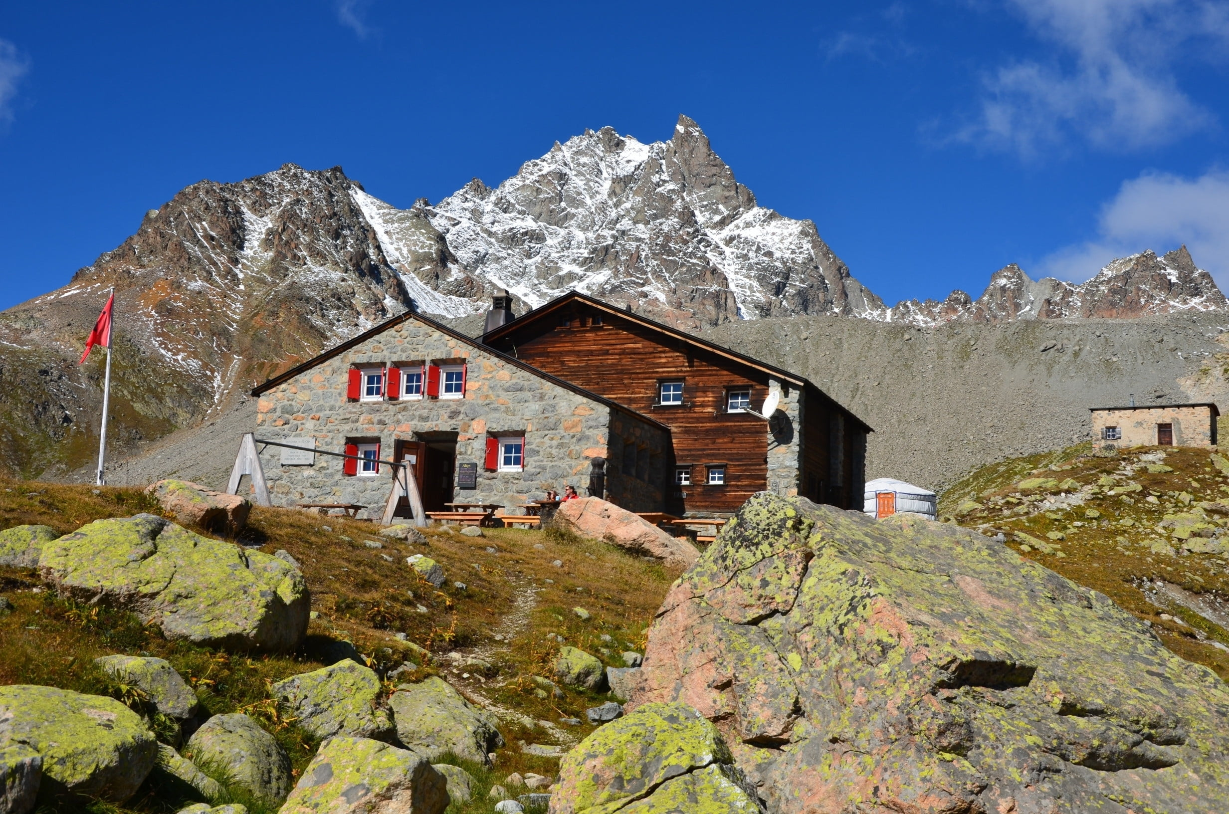 SAC and mountain huts