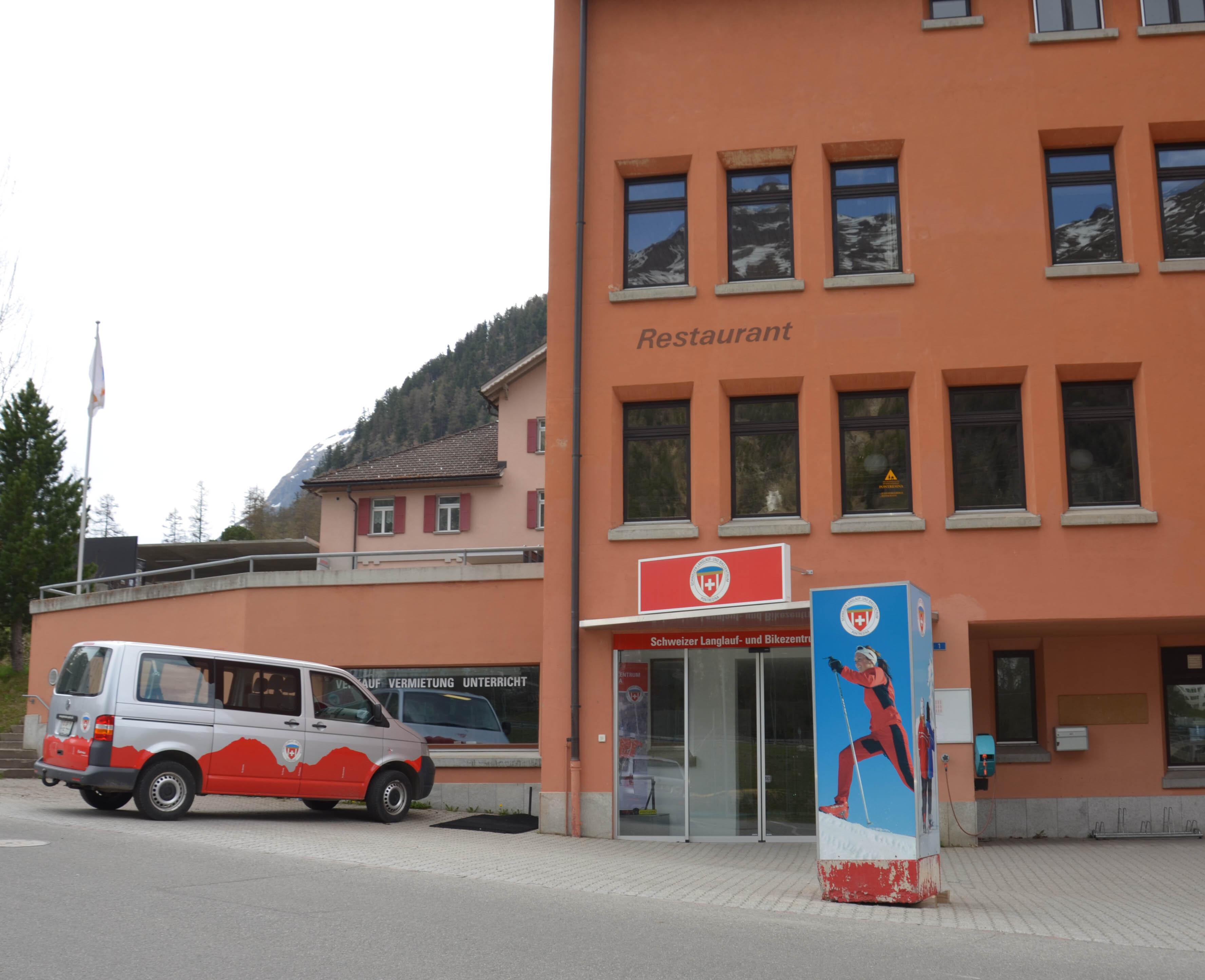 Schweizer Langlauf- und Bikezentrum Slide 8