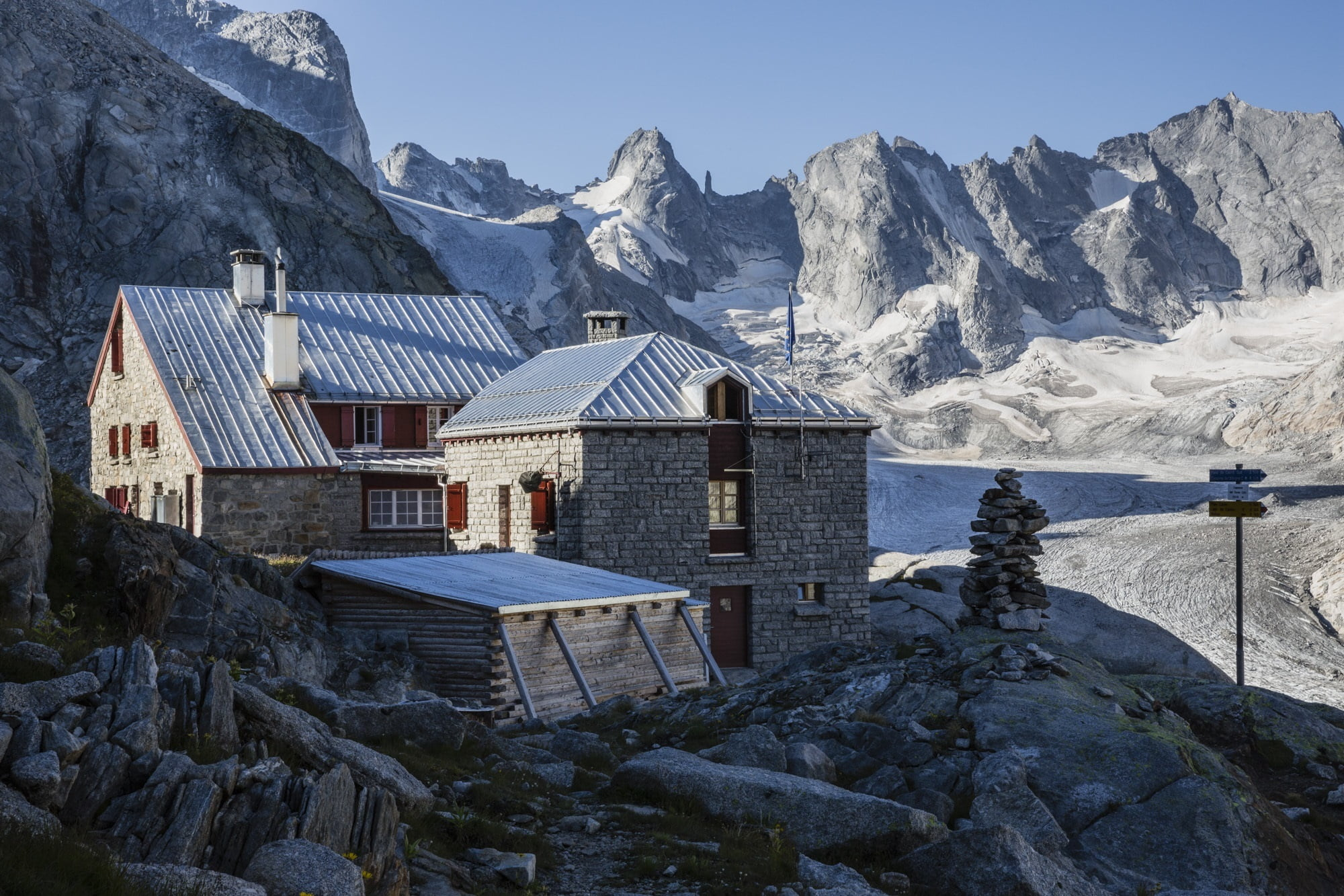 Mountain lodges