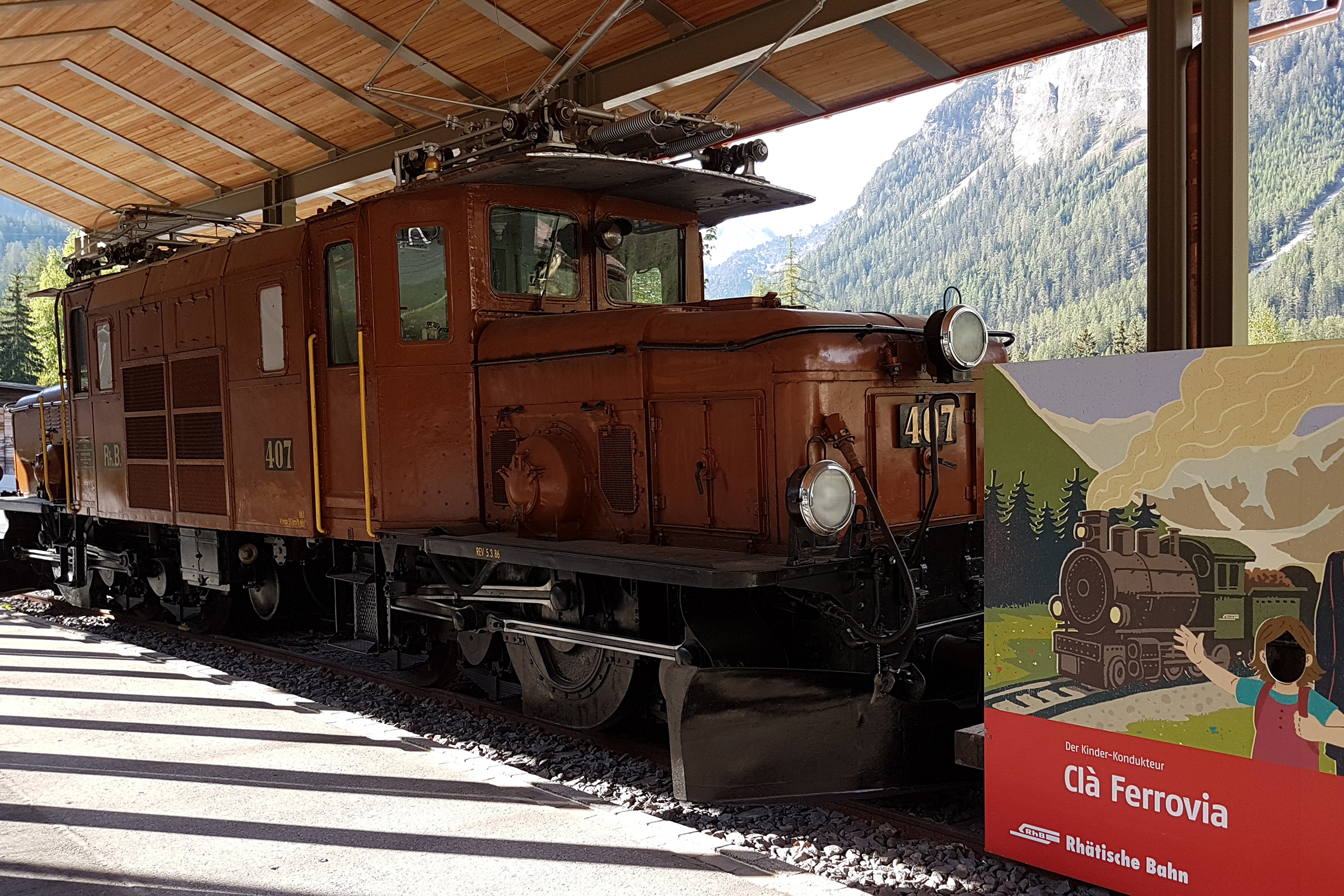 Bahnmuseum Albula, Bergün