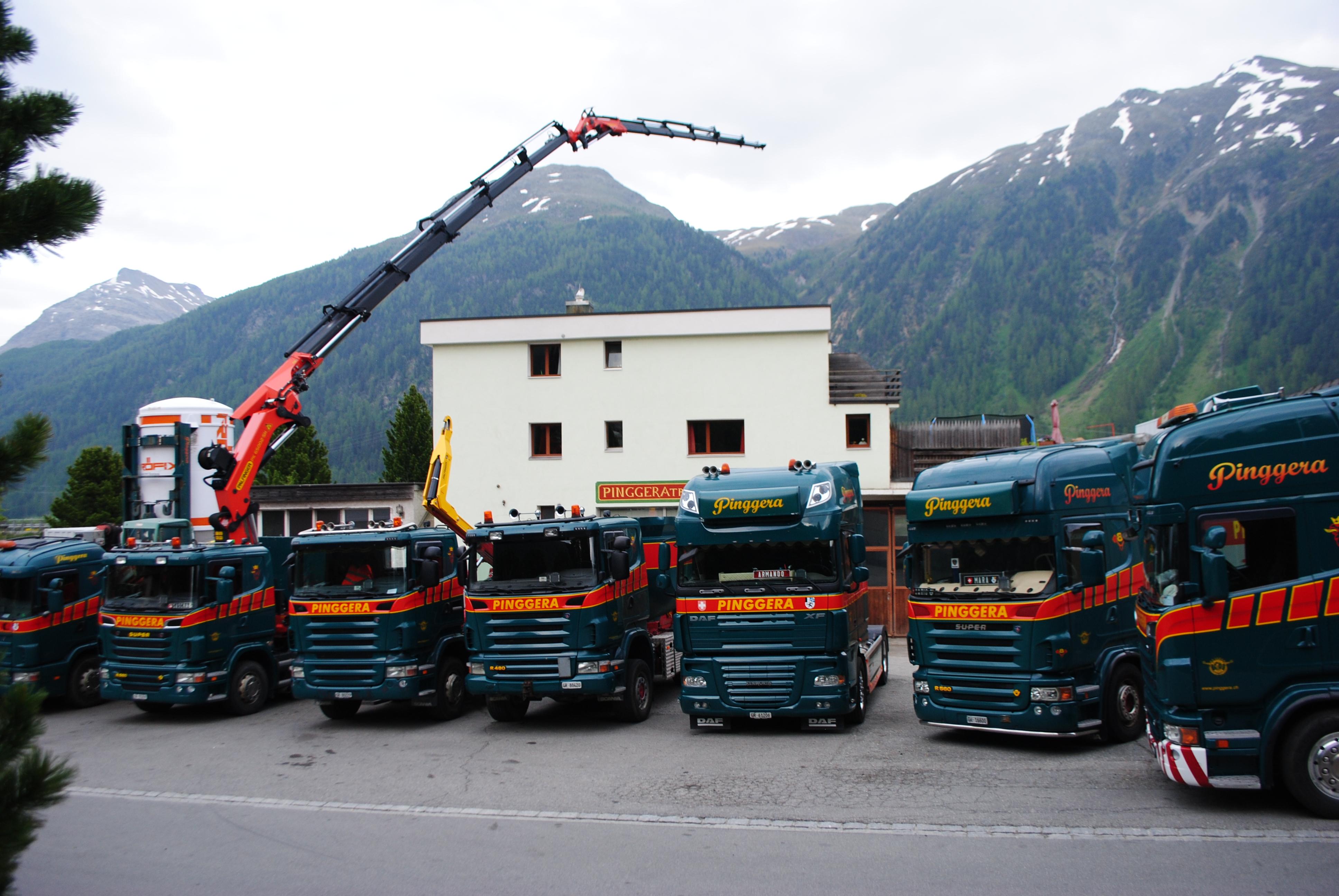 Pinggera Transporte AG Slide 6
