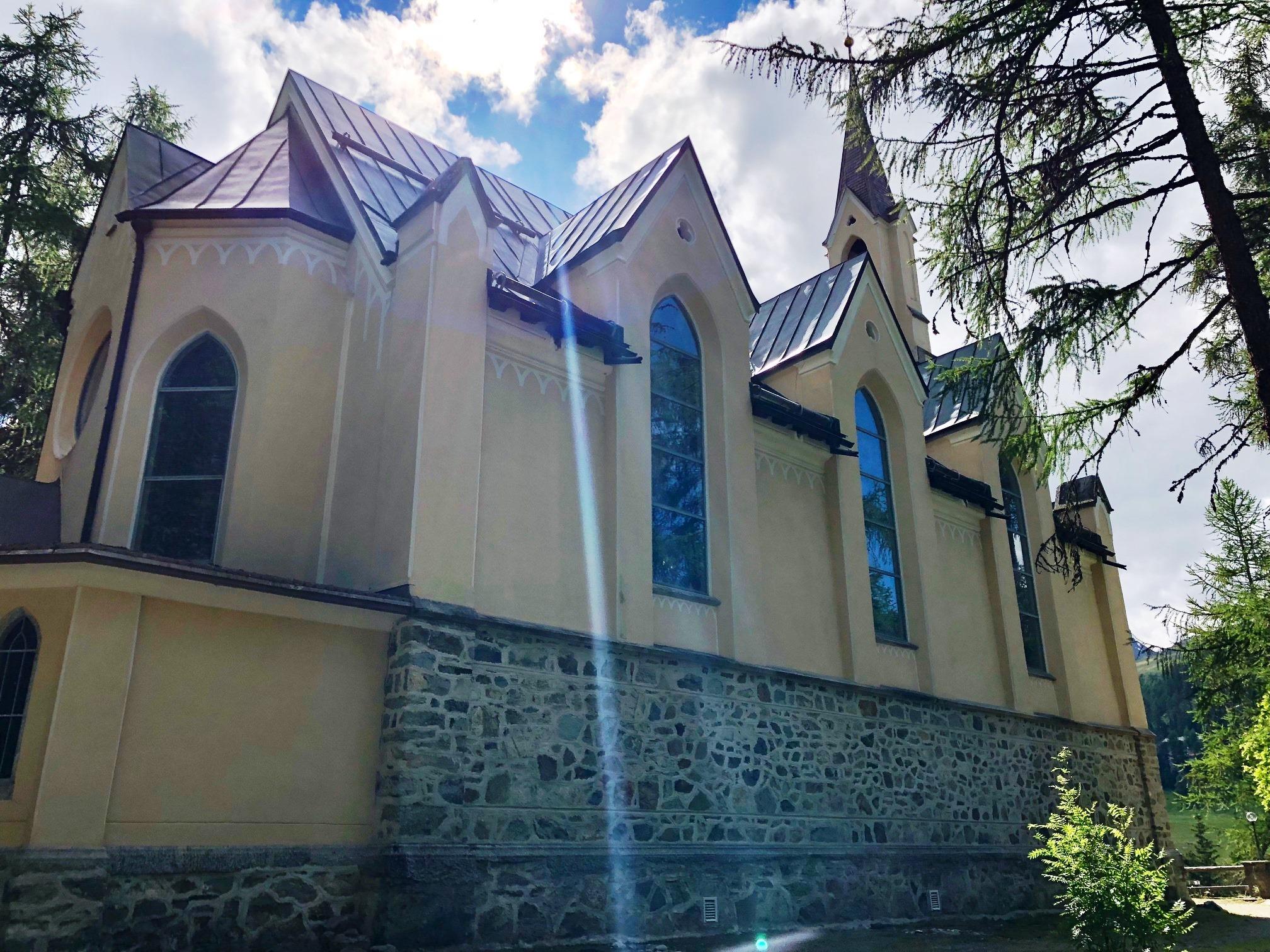 """French Church """"Au Bois"""" Slide 1"""
