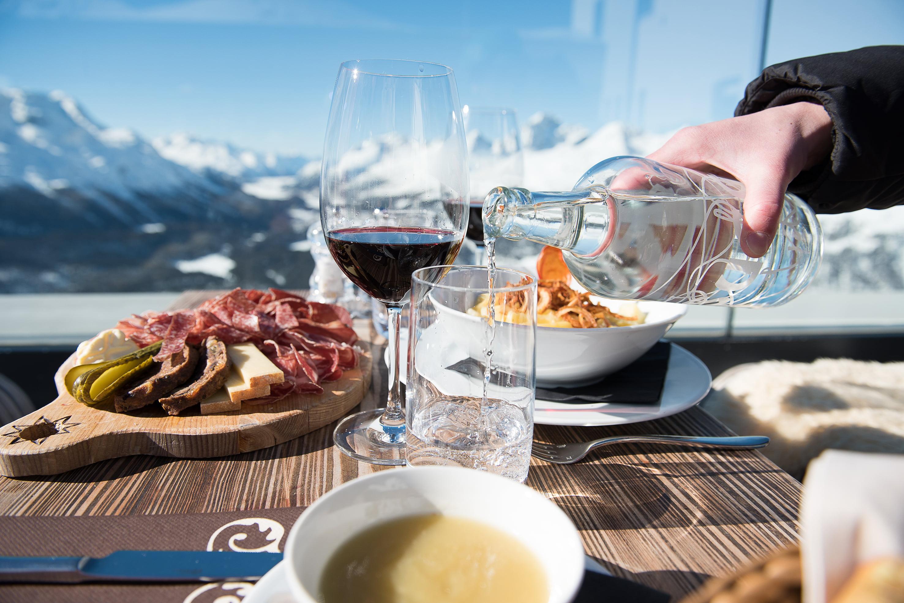 Panoramic restaurant Muottas Muragl