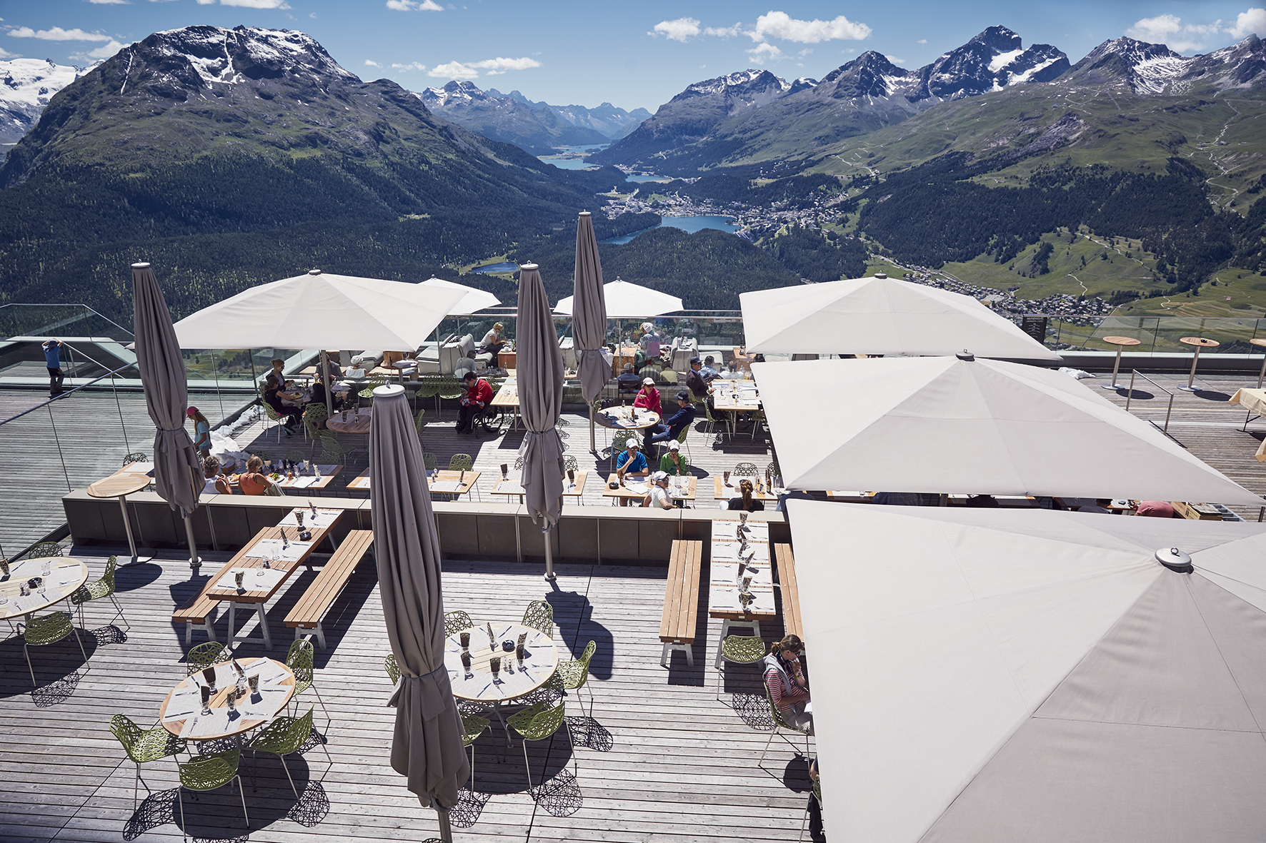 Panoramarestaurant Muottas Muragl Slide 3