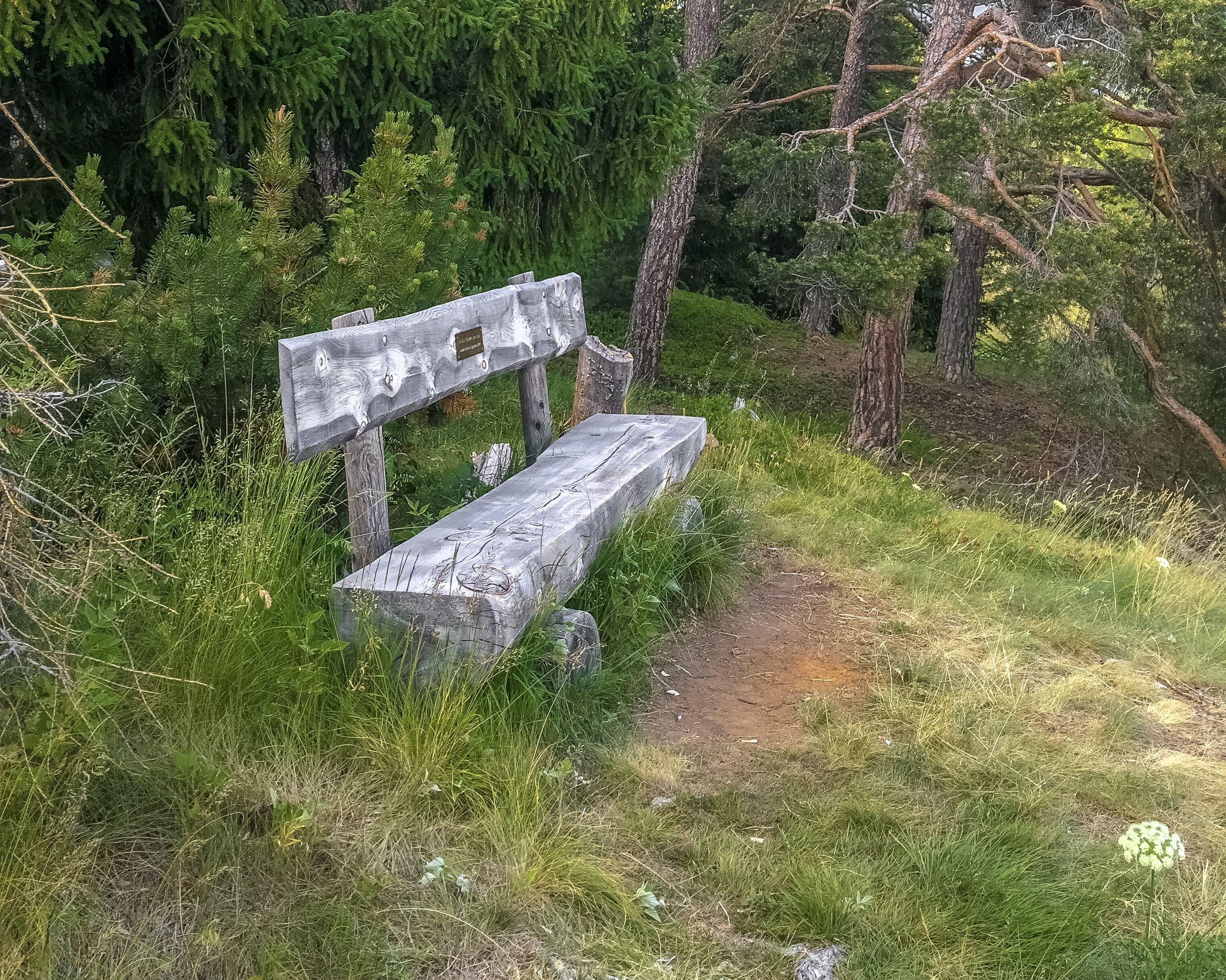 Sitzbank San Gian Hügel Slide 1