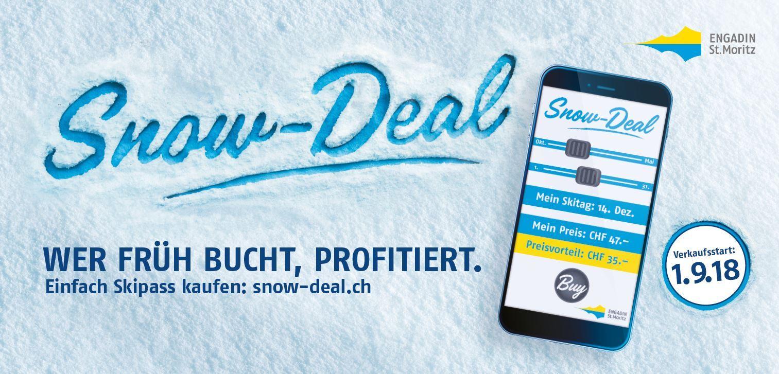 Snow-Deal: Wer früh bucht, profitiert Slide 1