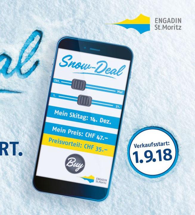 Snow-Deal: Erfolgreicher Verkaufsstart Slide 1