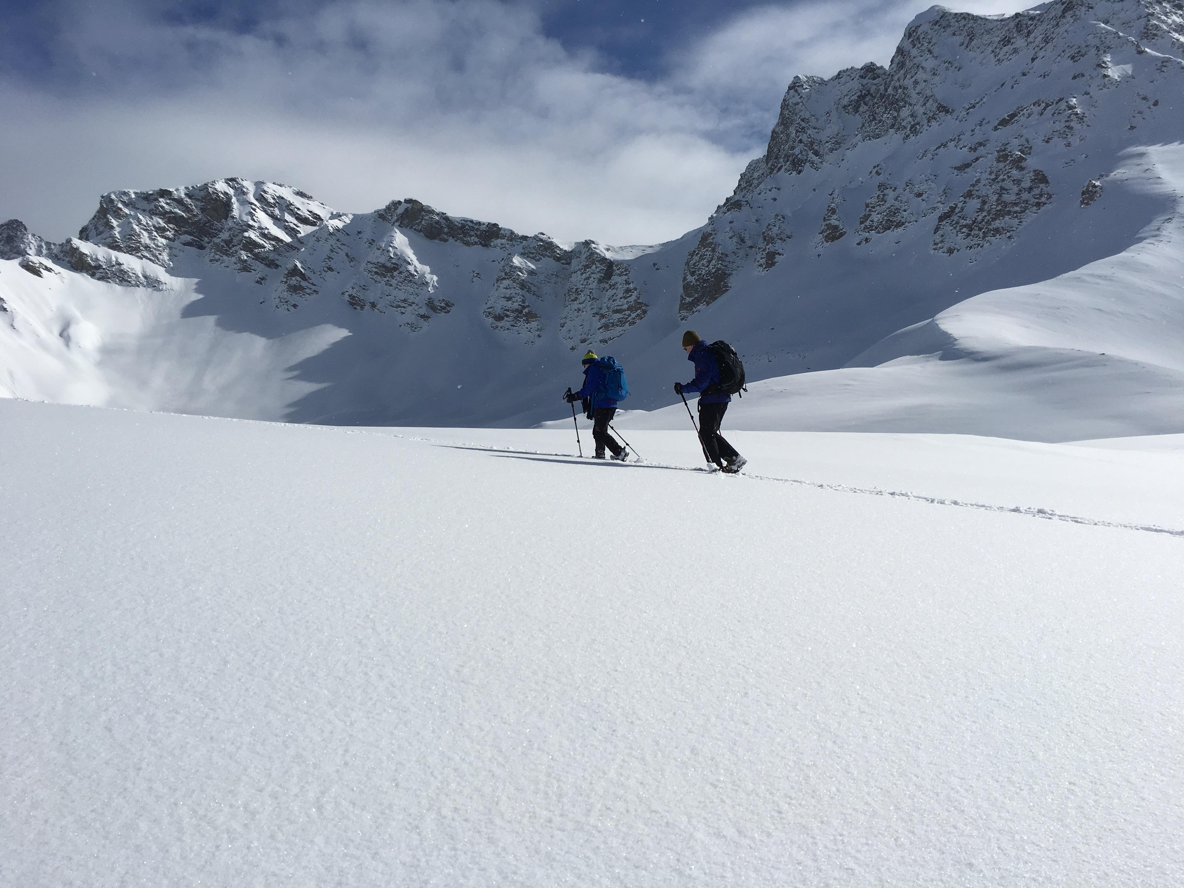 Bernina Trekking (Rudolf Wiesner, Schneeschuhwanderleiter mit Eidg. Fachausweis) Slide 5