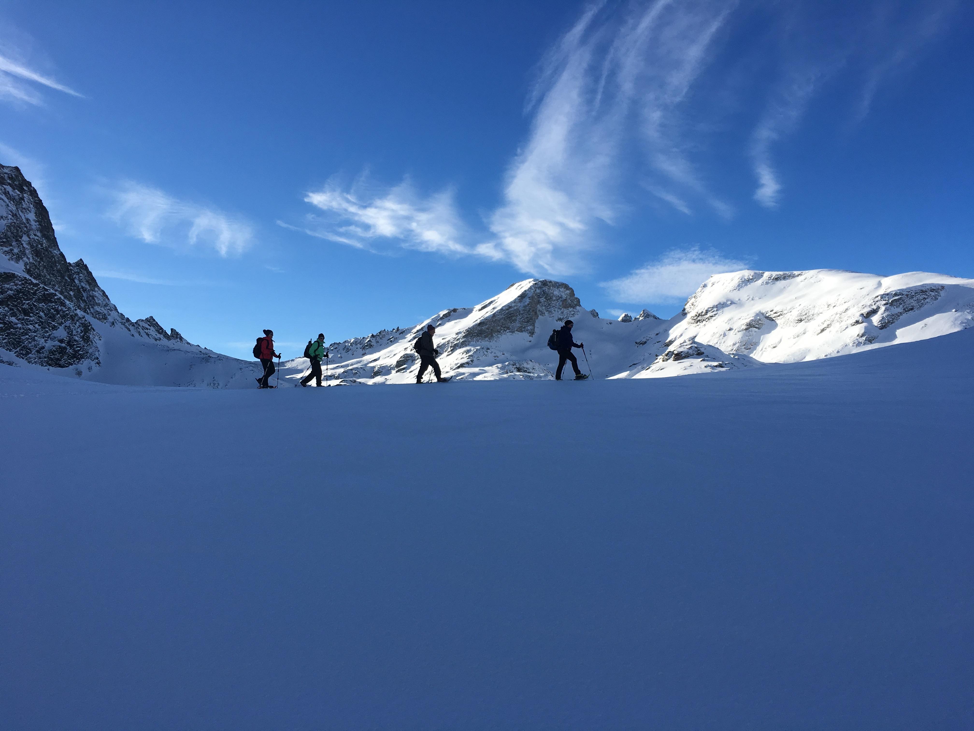Bernina Trekking (Rudolf Wiesner, Schneeschuhwanderleiter mit Eidg. Fachausweis) Slide 6