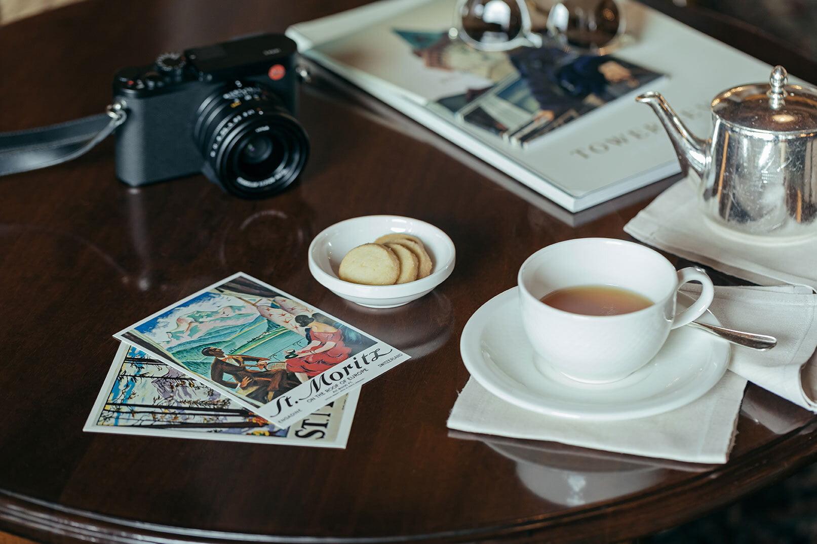 Hotel Badrutt's Palace - Tea Time