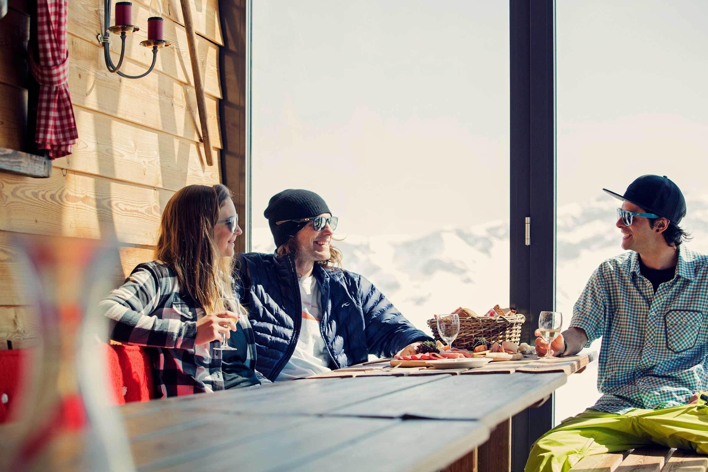 Bergrestaurant Chamanna auf Corviglia