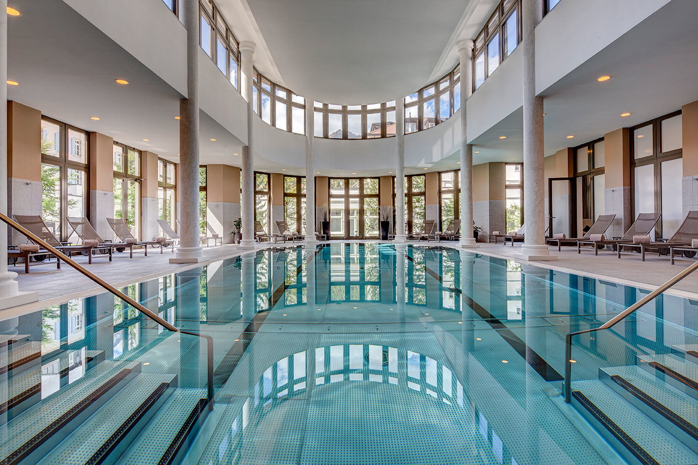 Wellness & Spa at Kempinski Grand Hotel des Bains