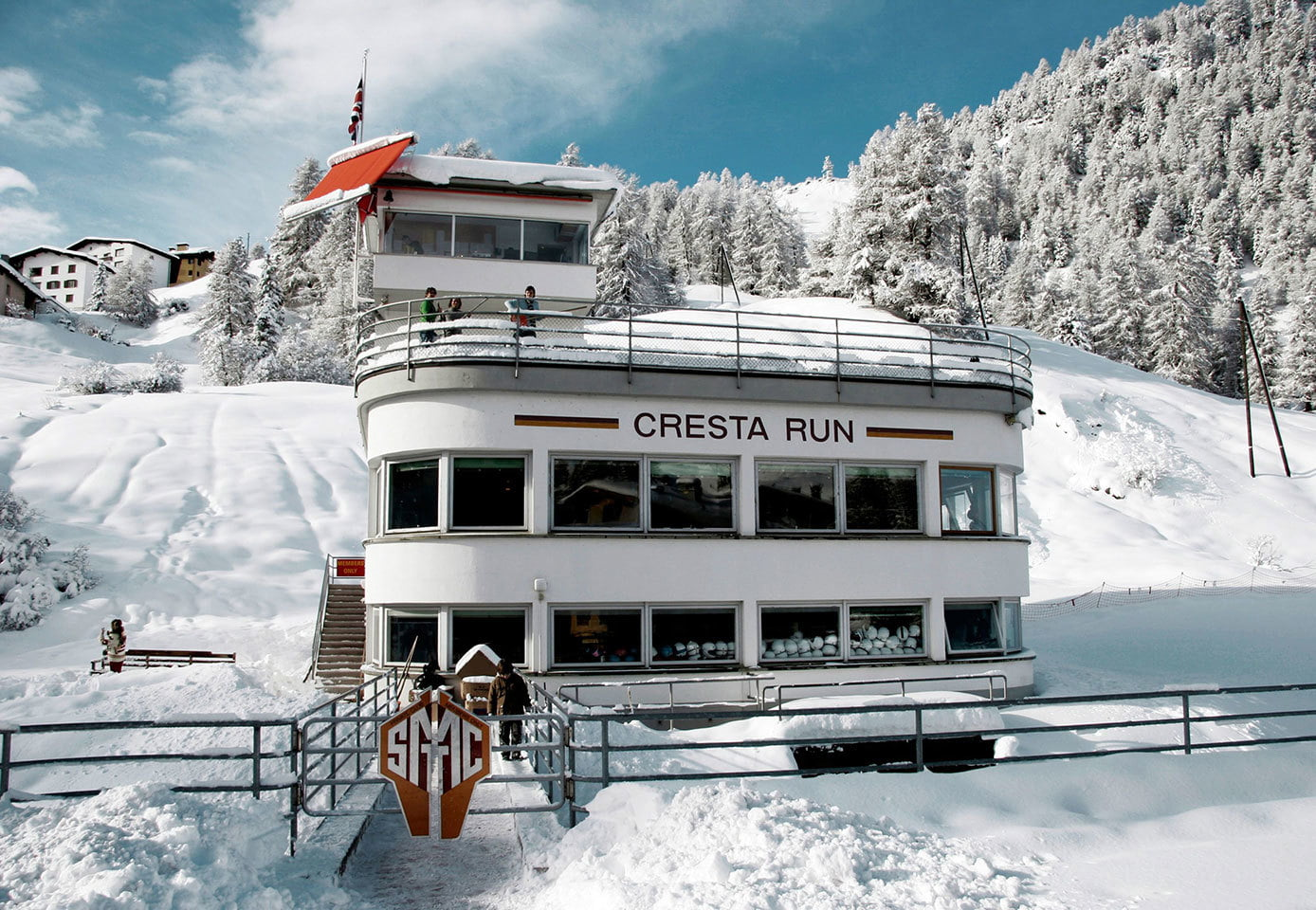 St Moritz Tobogganing Club & The Cresta Run