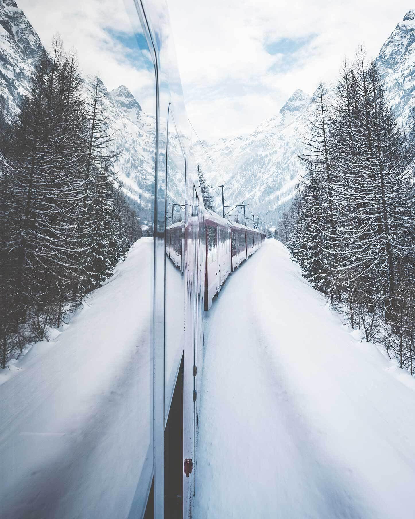 Glacier Express St. Moritz