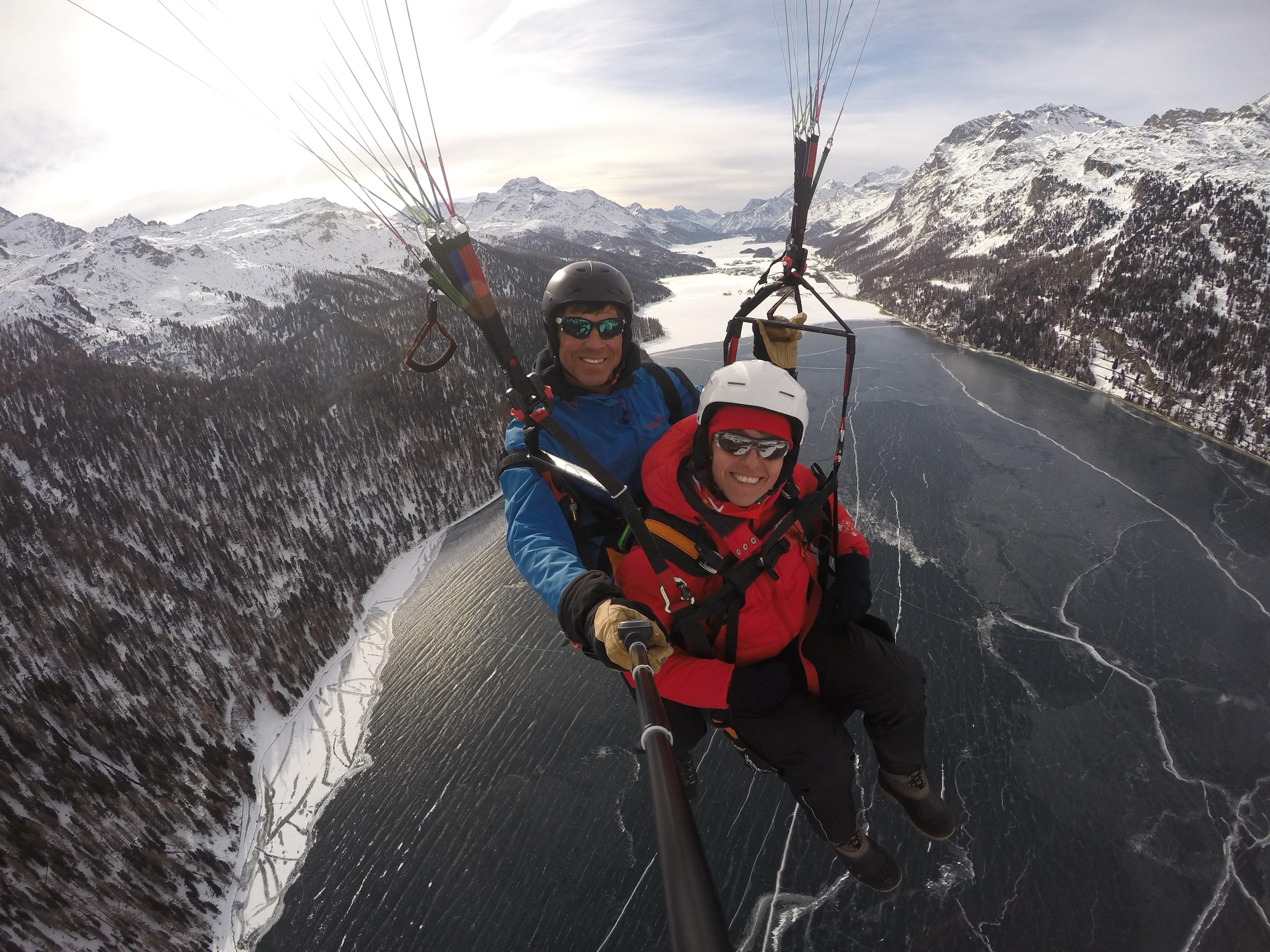 Gleitschirmfliegen/Segeln/Snowkiten mit Passagieren Slide 3