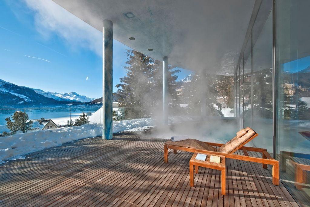 Wellness in St. Moritz