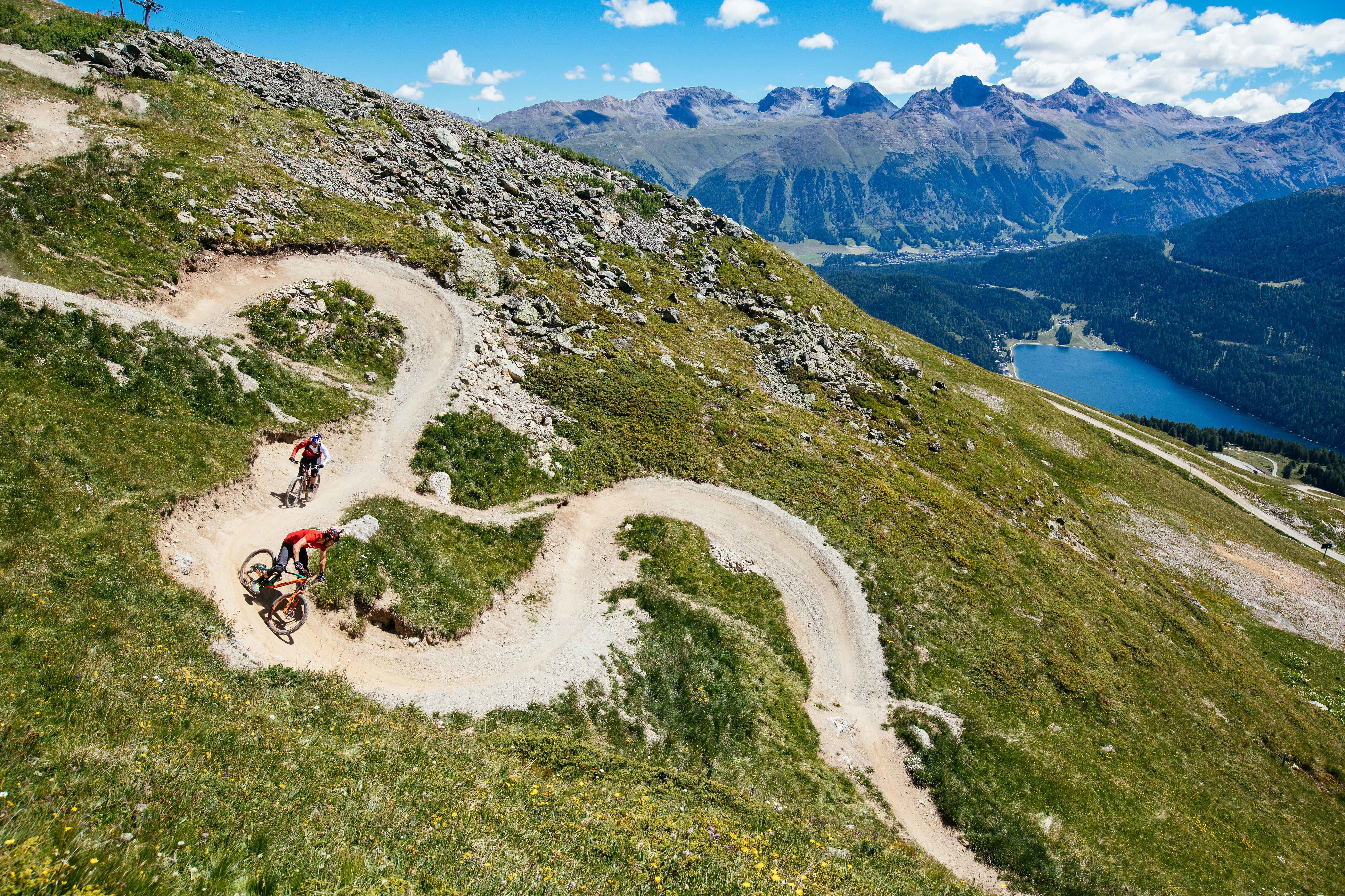 St. Moritz ist «Home of Trails»
