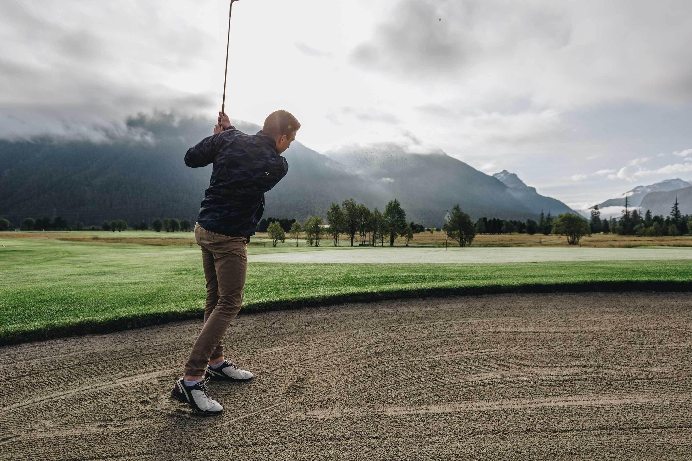 Golf at 1800 M