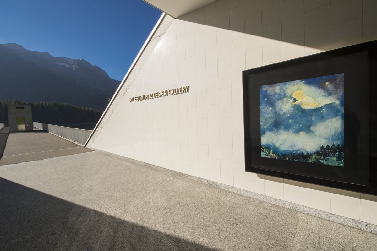 St. Moritz Design Gallery: car park art