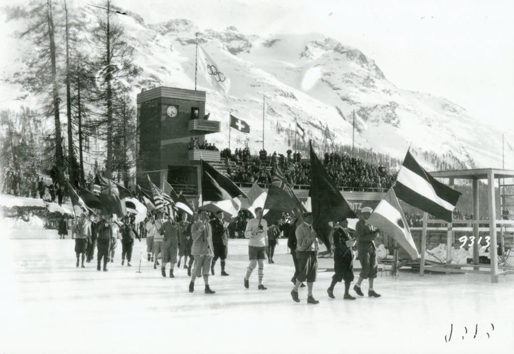 Das Olympiastadion von 1928 und 1948