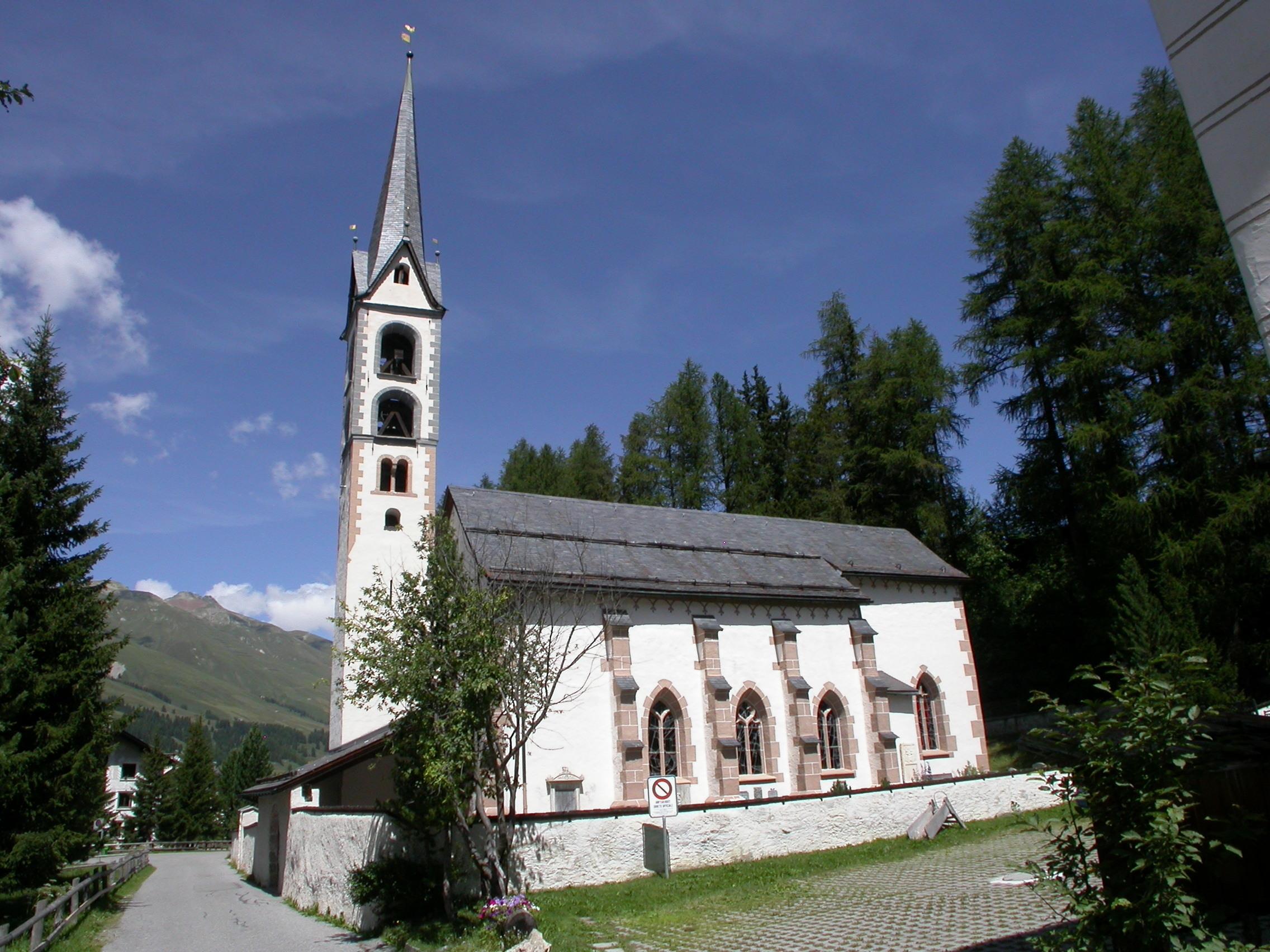 Evangelisch-reformierte Dorfkirche San Andrea Slide 1