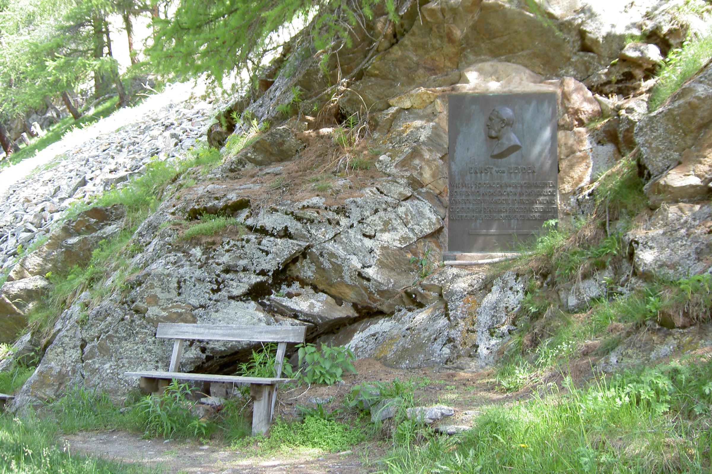 Gedenktafel Ernst Viktor von Leyden (1832 - 1910) Slide 1