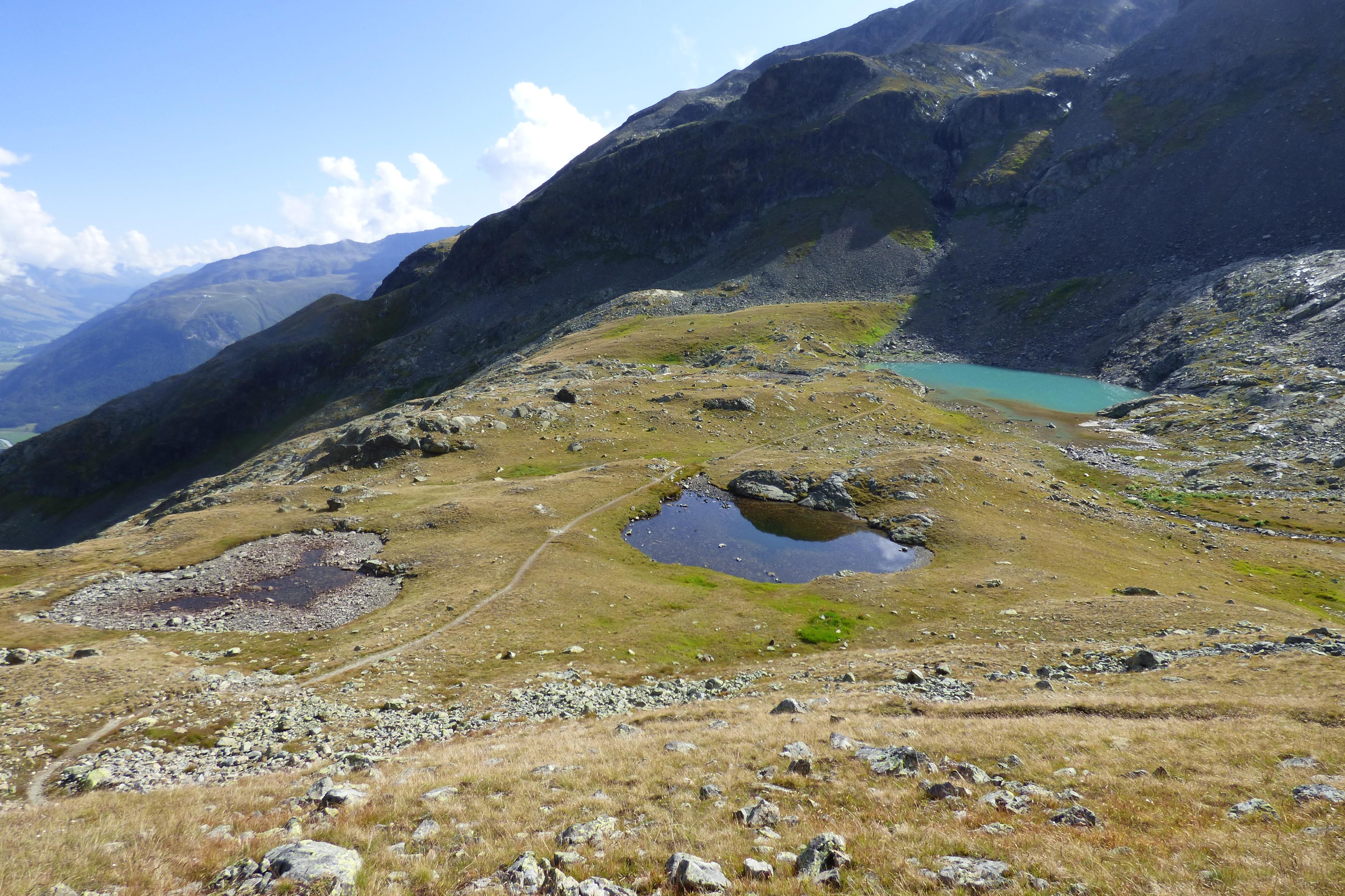 Bergsee Lej da l'Ova Cotschna Slide 1