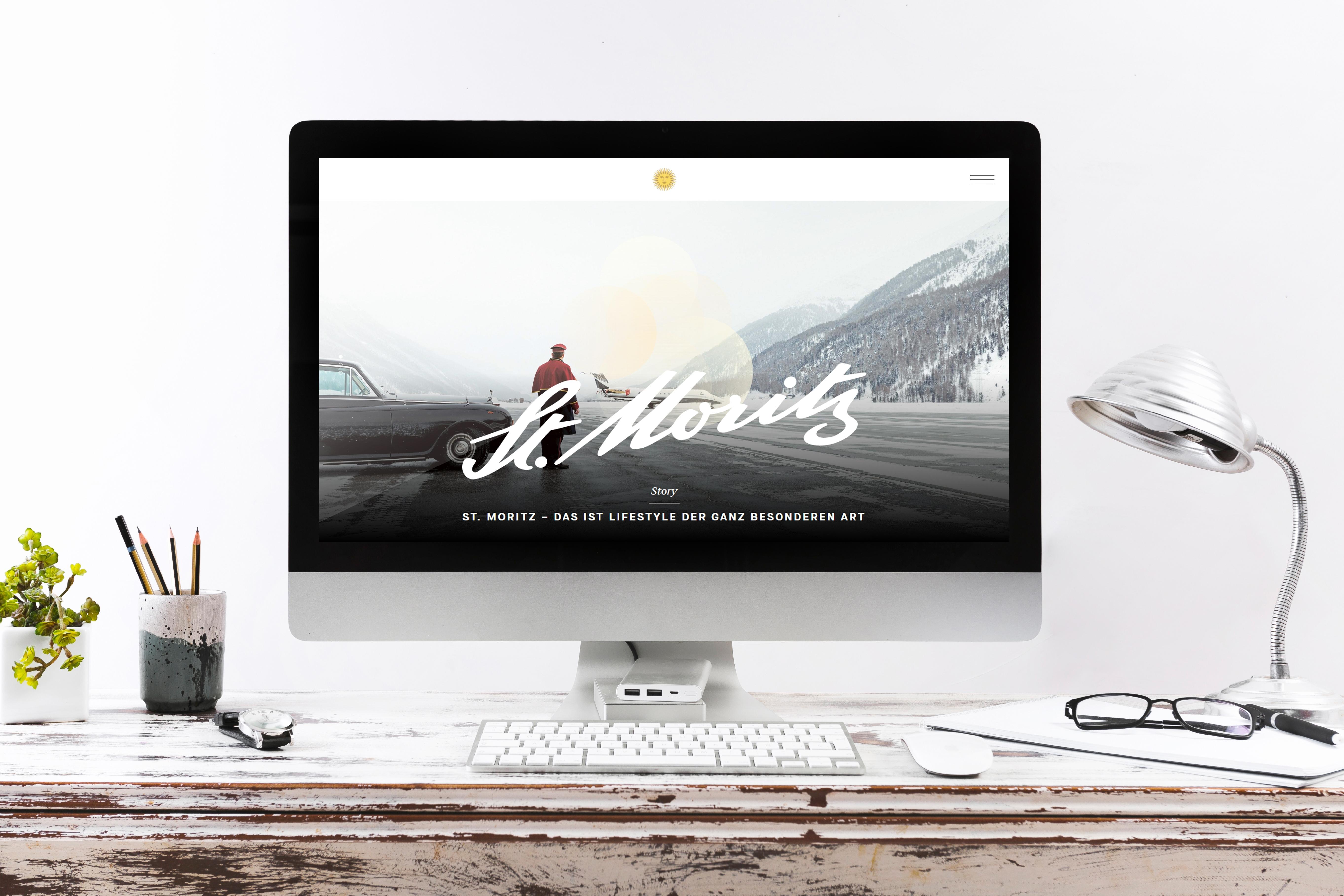 Neue St. Moritz Webseite Slide 1