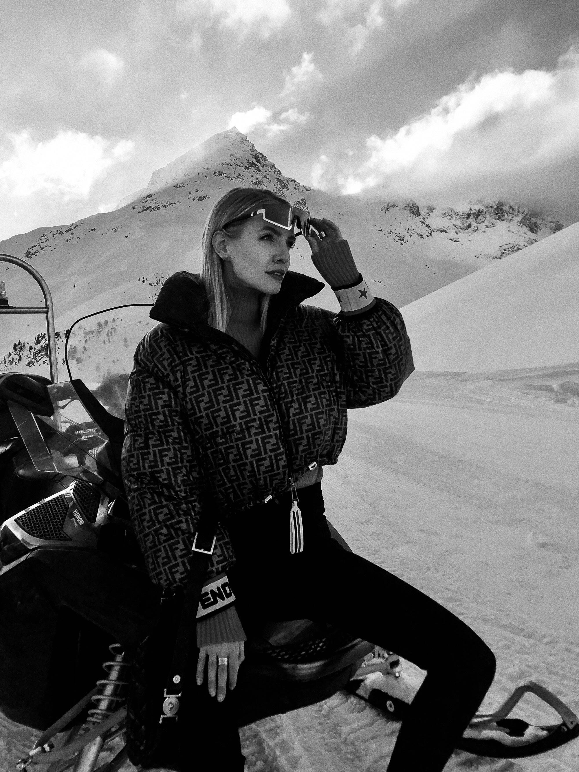 Leonie Hanne erlebt St. Moritz Slide 1