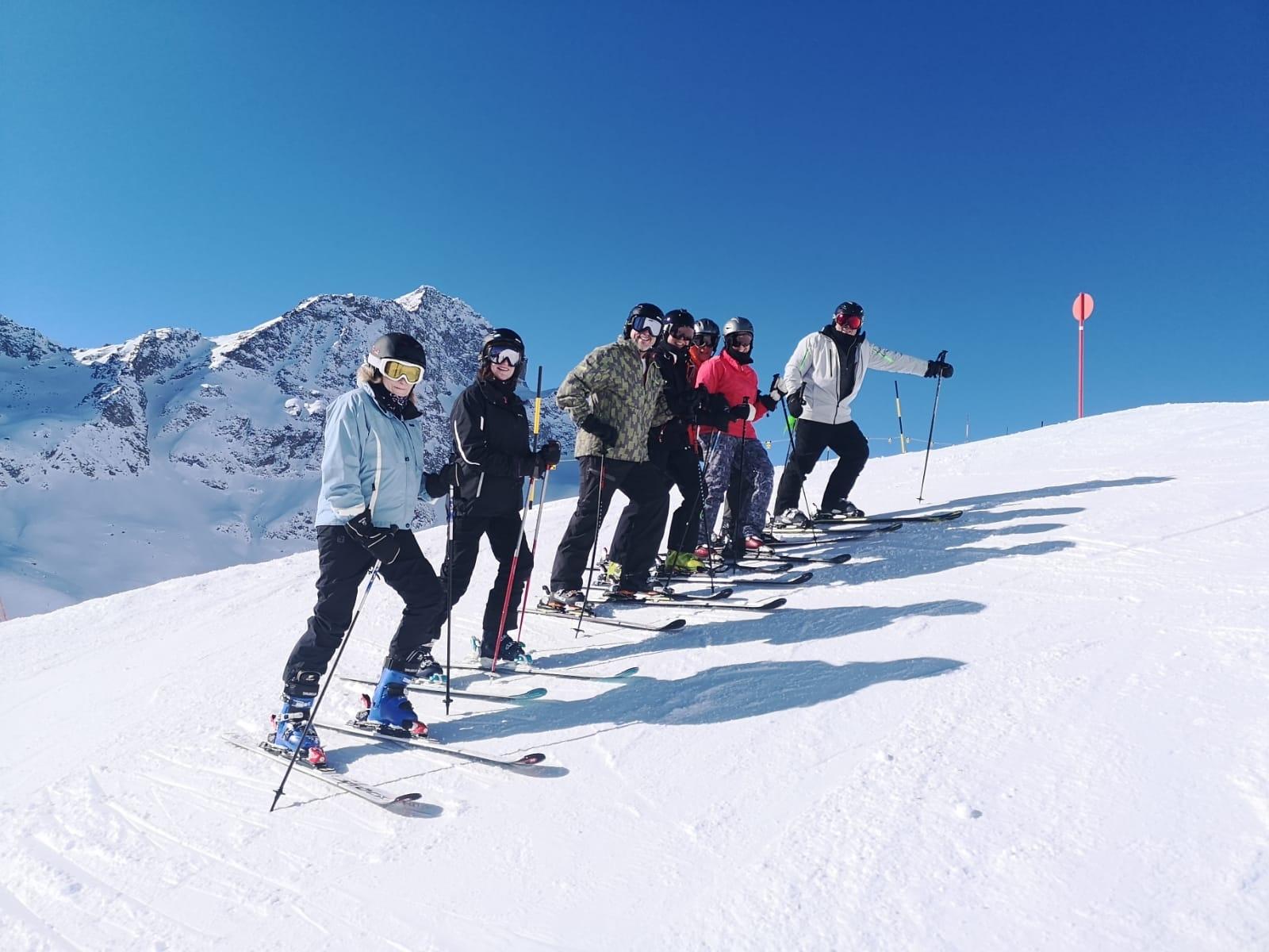 Gäste aus den USA in St. Moritz Slide 1