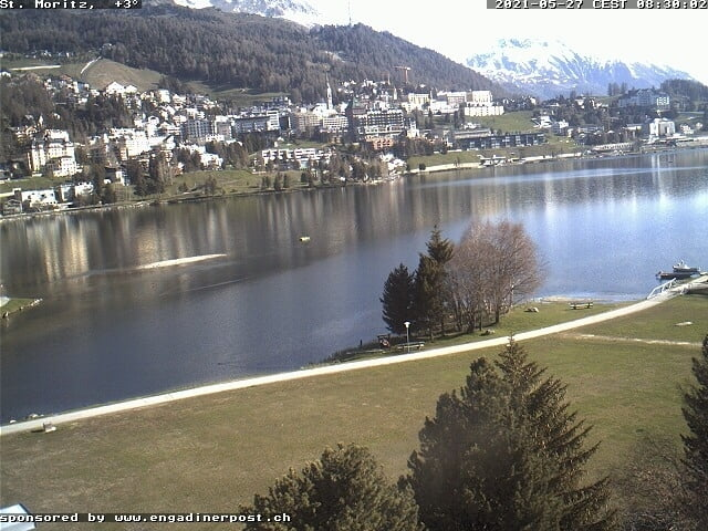 St. Moritzersee - White Turf Village