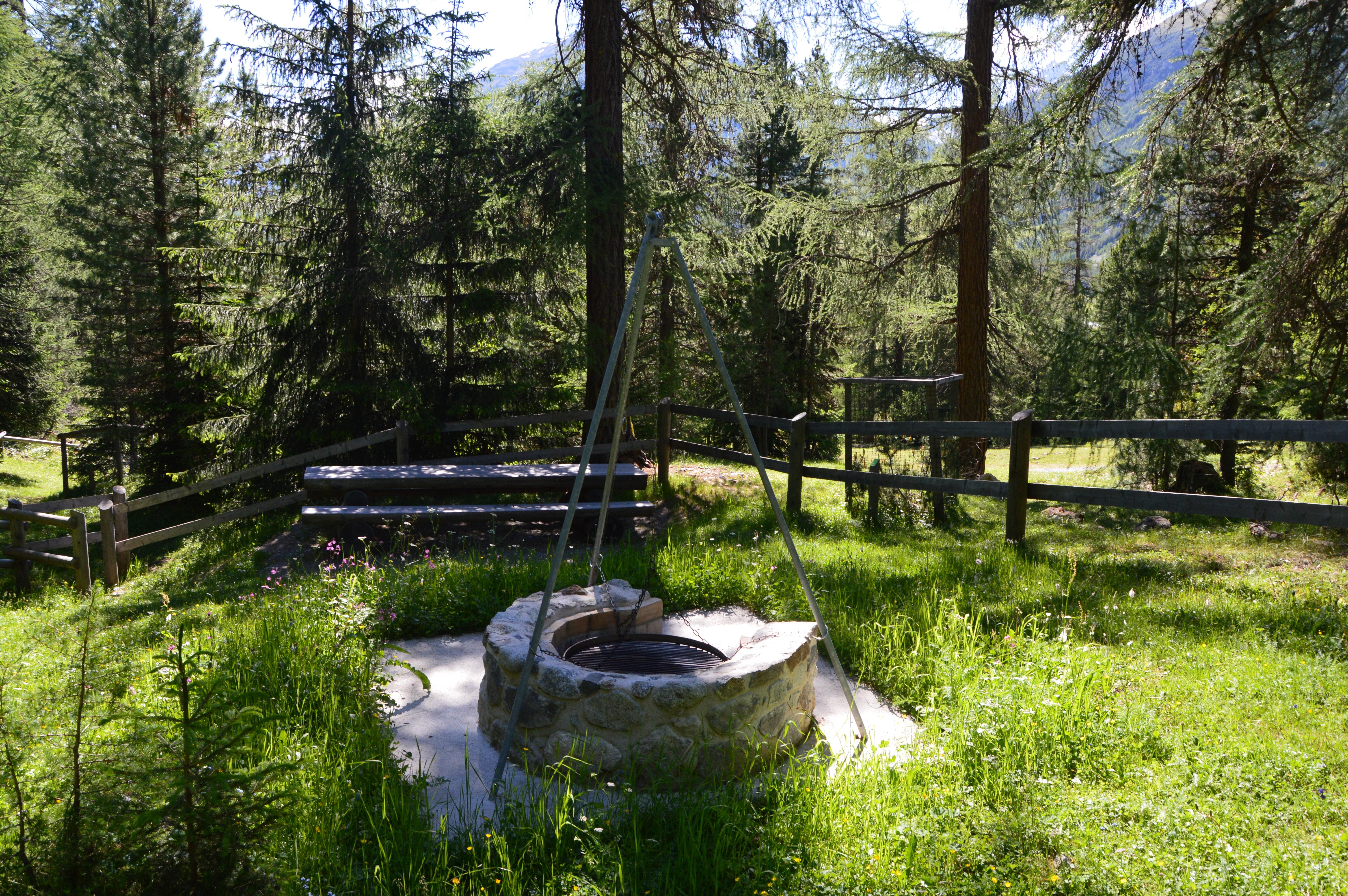 Feuerstelle Waldlehrpfad Slide 1